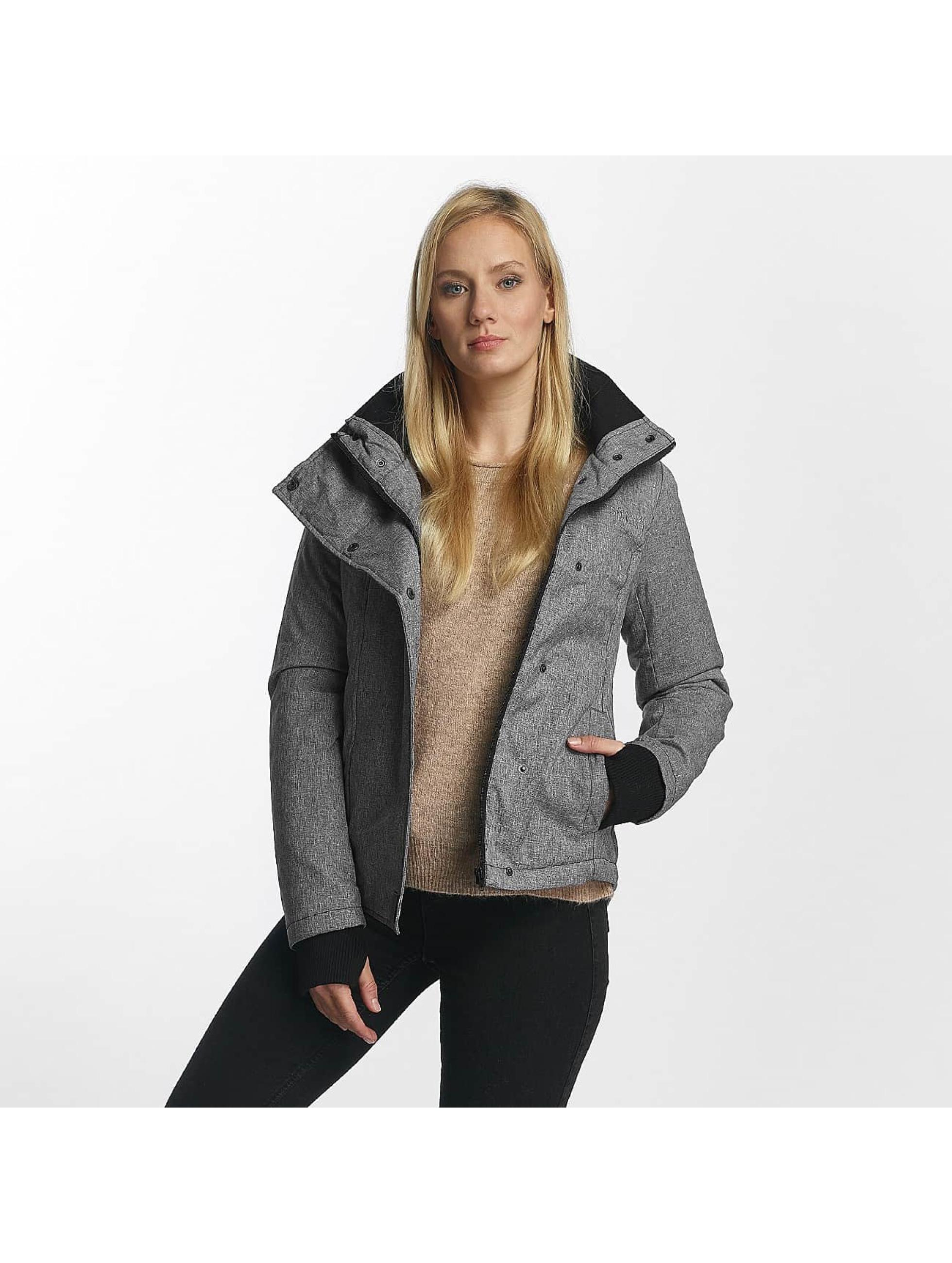 Sublevel Frauen Winterjacke Jacket in grau