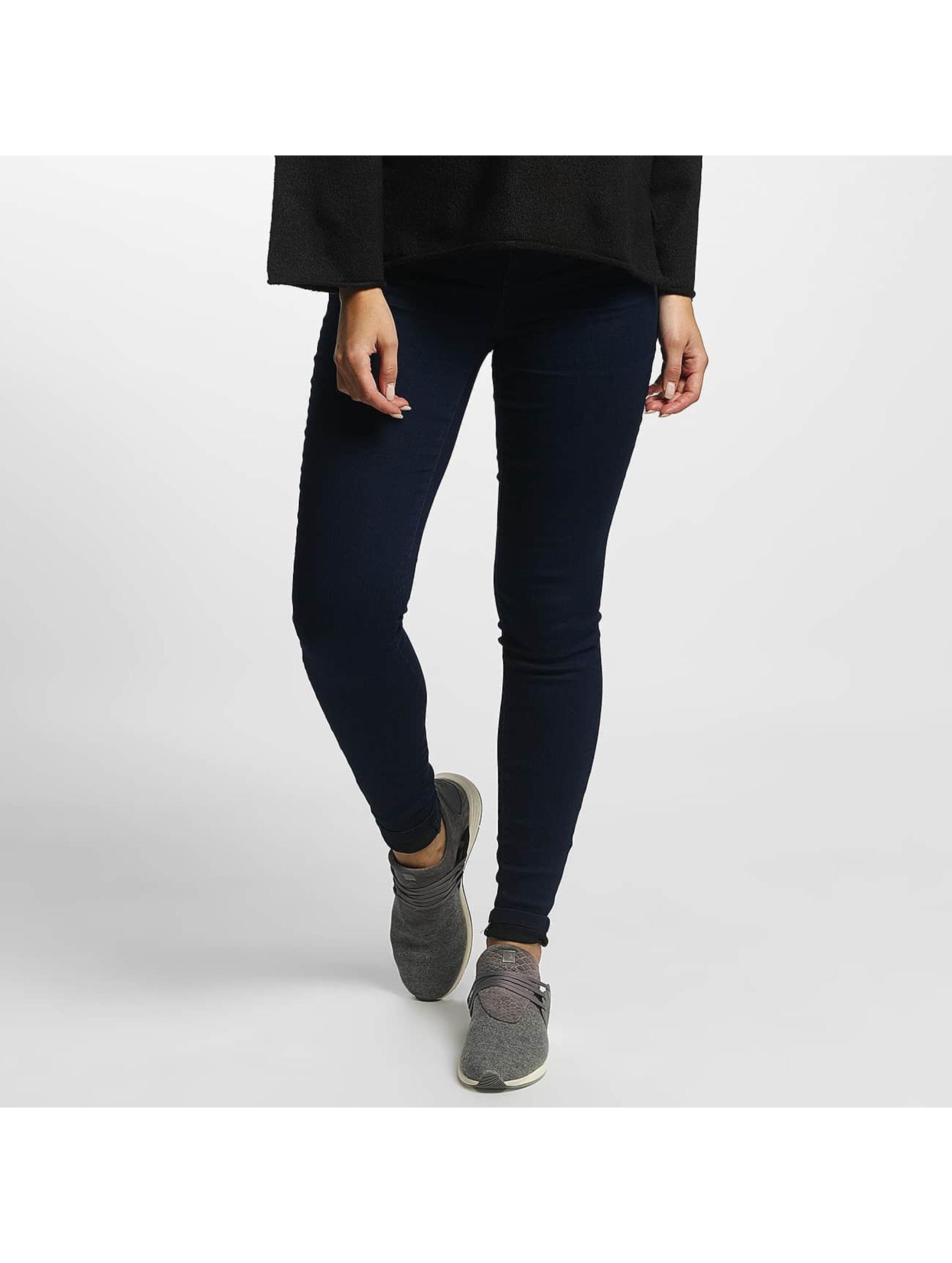 JACQUELINE de YONG Frauen High Waist Jeans jdySkinny Ulle in indigo