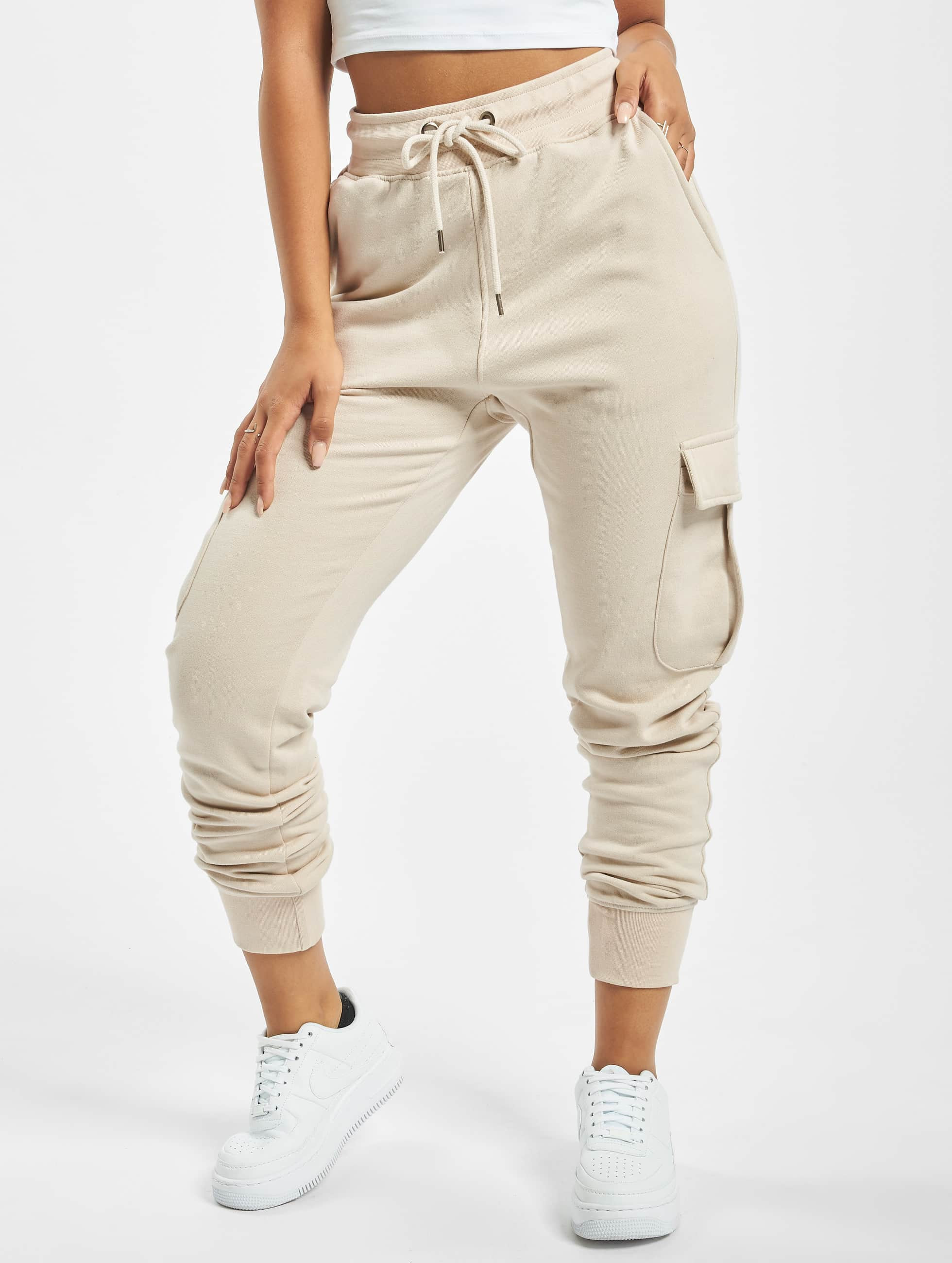 DEF / Sweat Pant Greta in beige XL