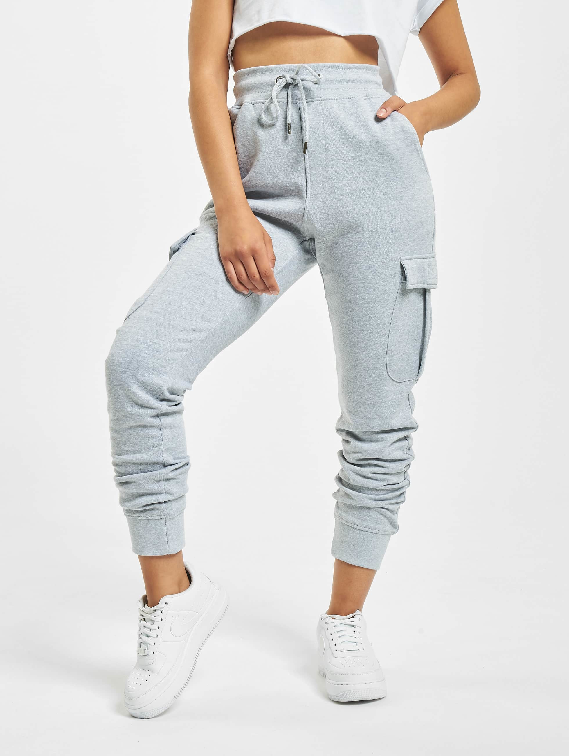 DEF / Sweat Pant Greta in grey XS