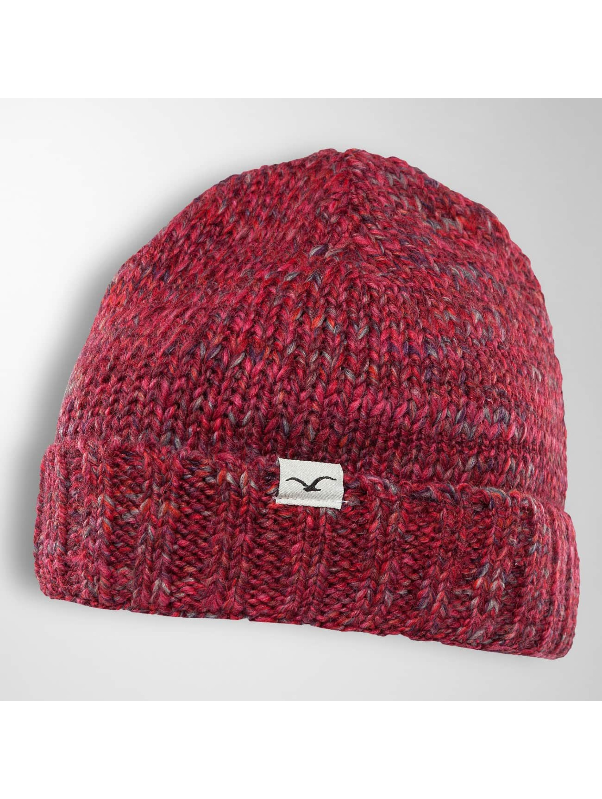 Cleptomanicx Frauen Beanie Harbour in rot