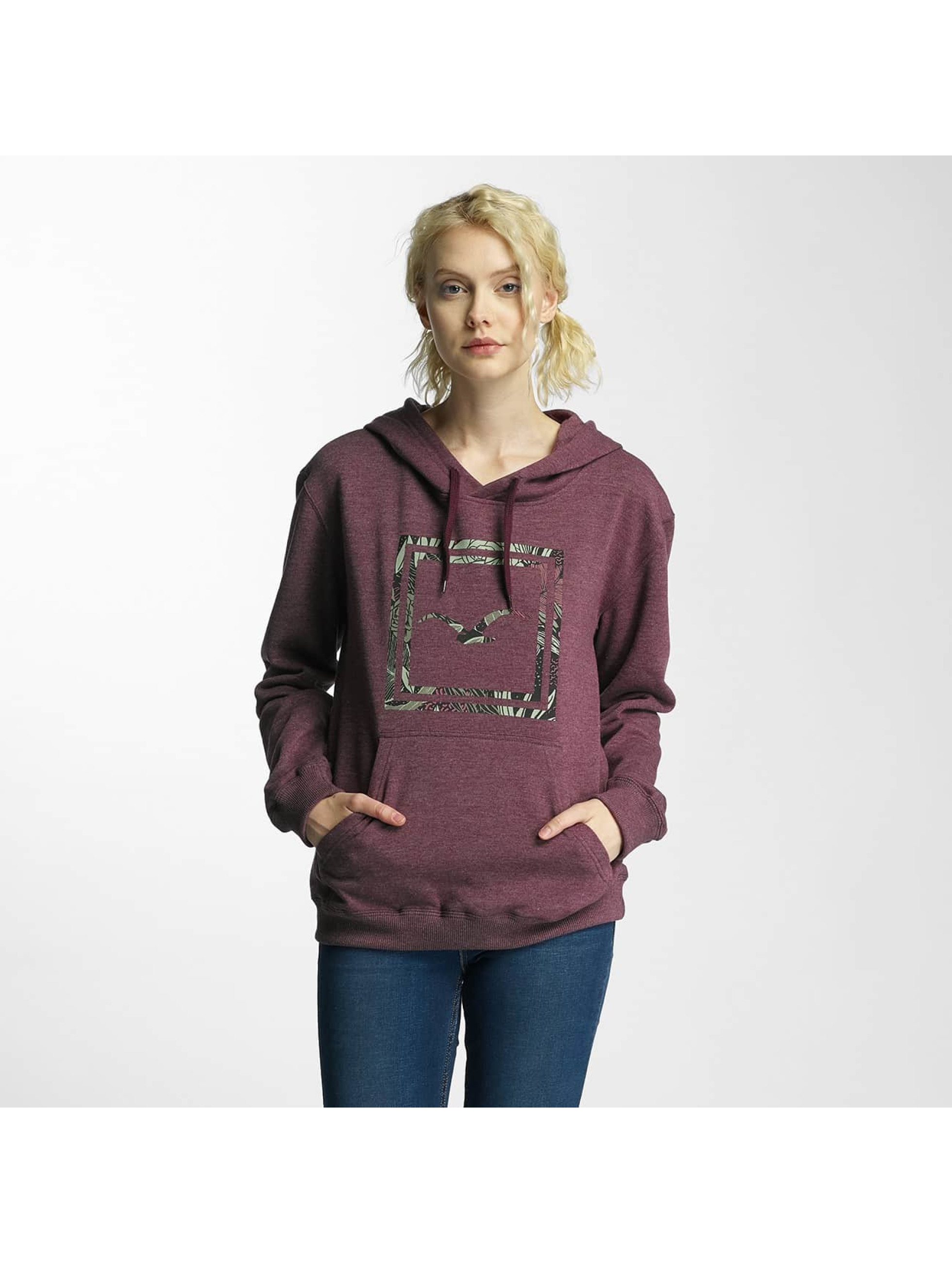 Cleptomanicx Frauen Hoody Floral Box in violet