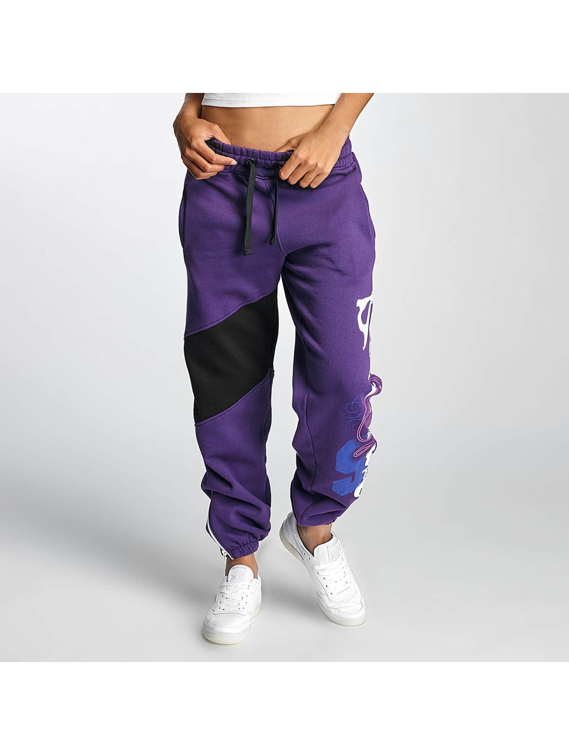 Babystaff Frauen Jogginghose Arise in violet