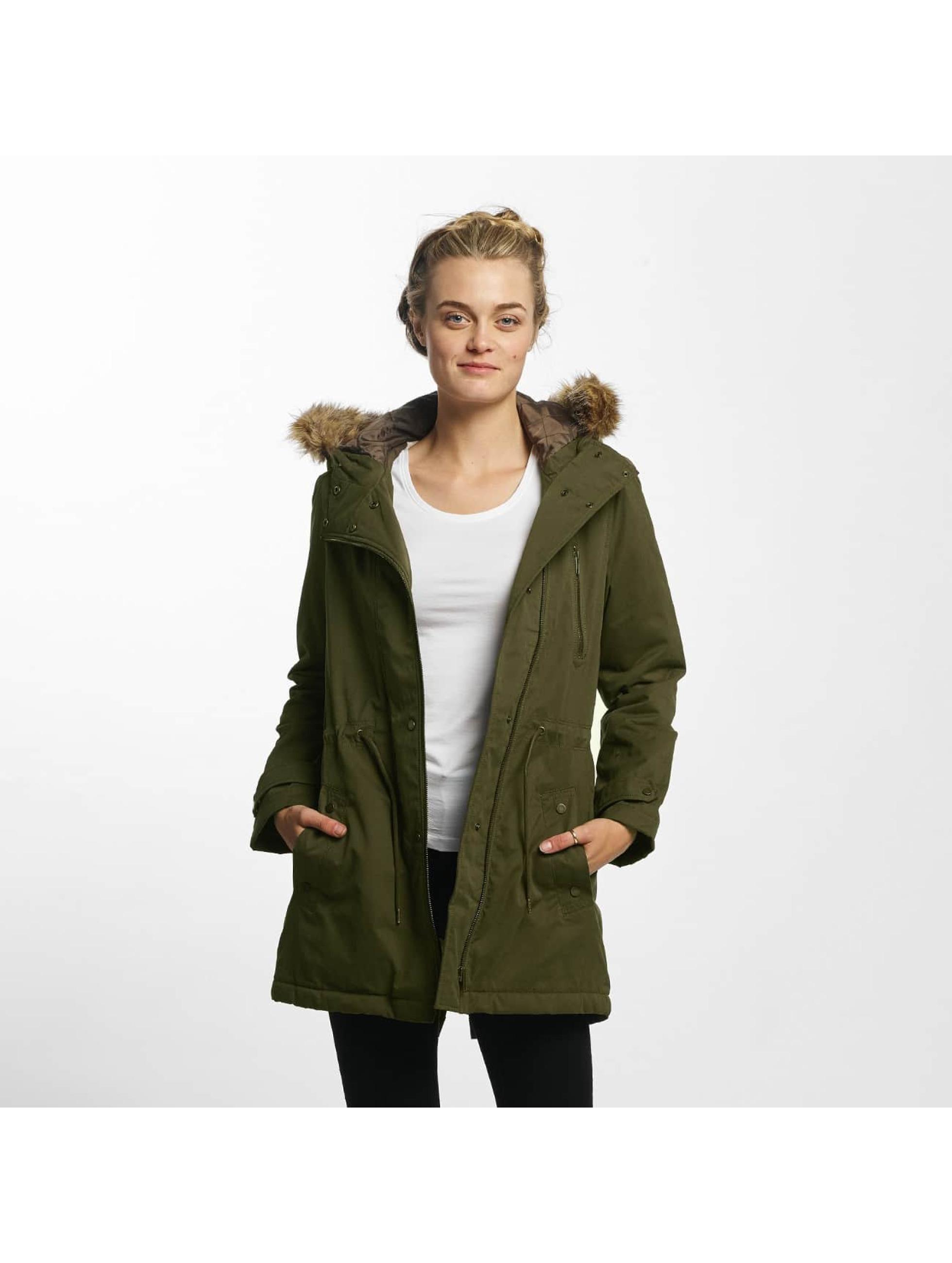 Mavi Jeans Frauen Winterjacke Hooded in grün