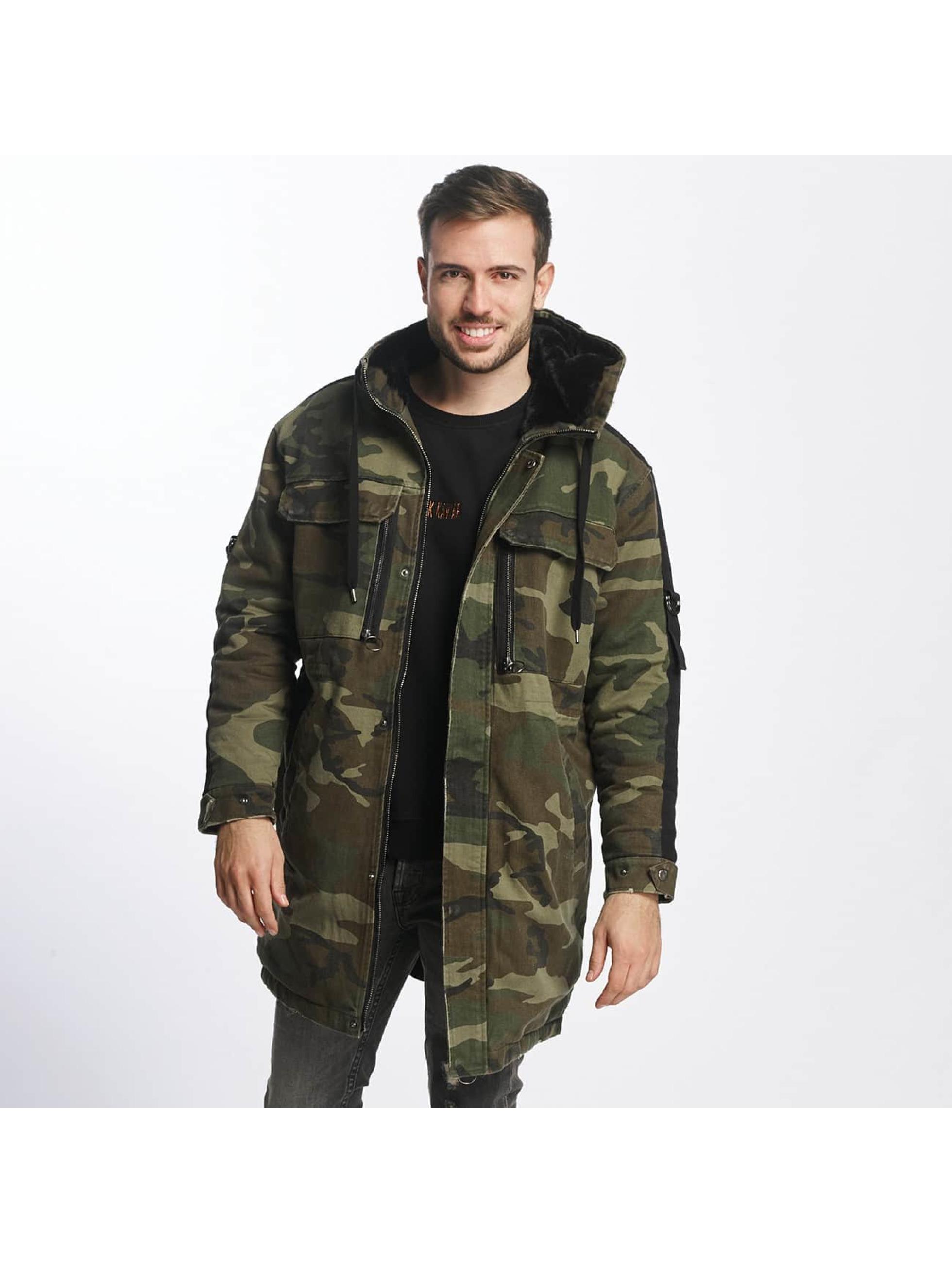 Black Kaviar Männer Winterjacke Rayban in camouflage