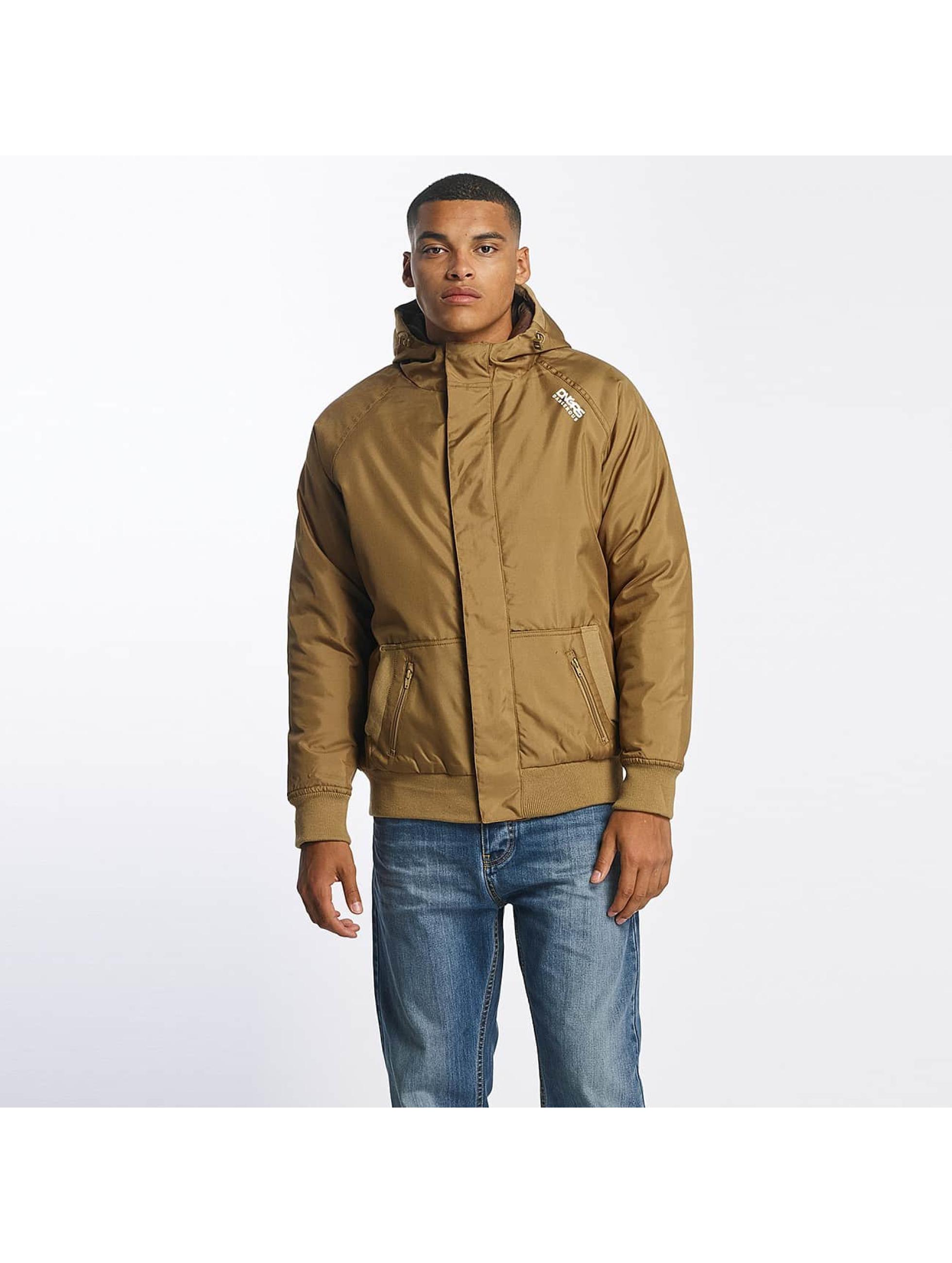 Dangerous DNGRS / Winter Jacket Orlando in brown 2XL