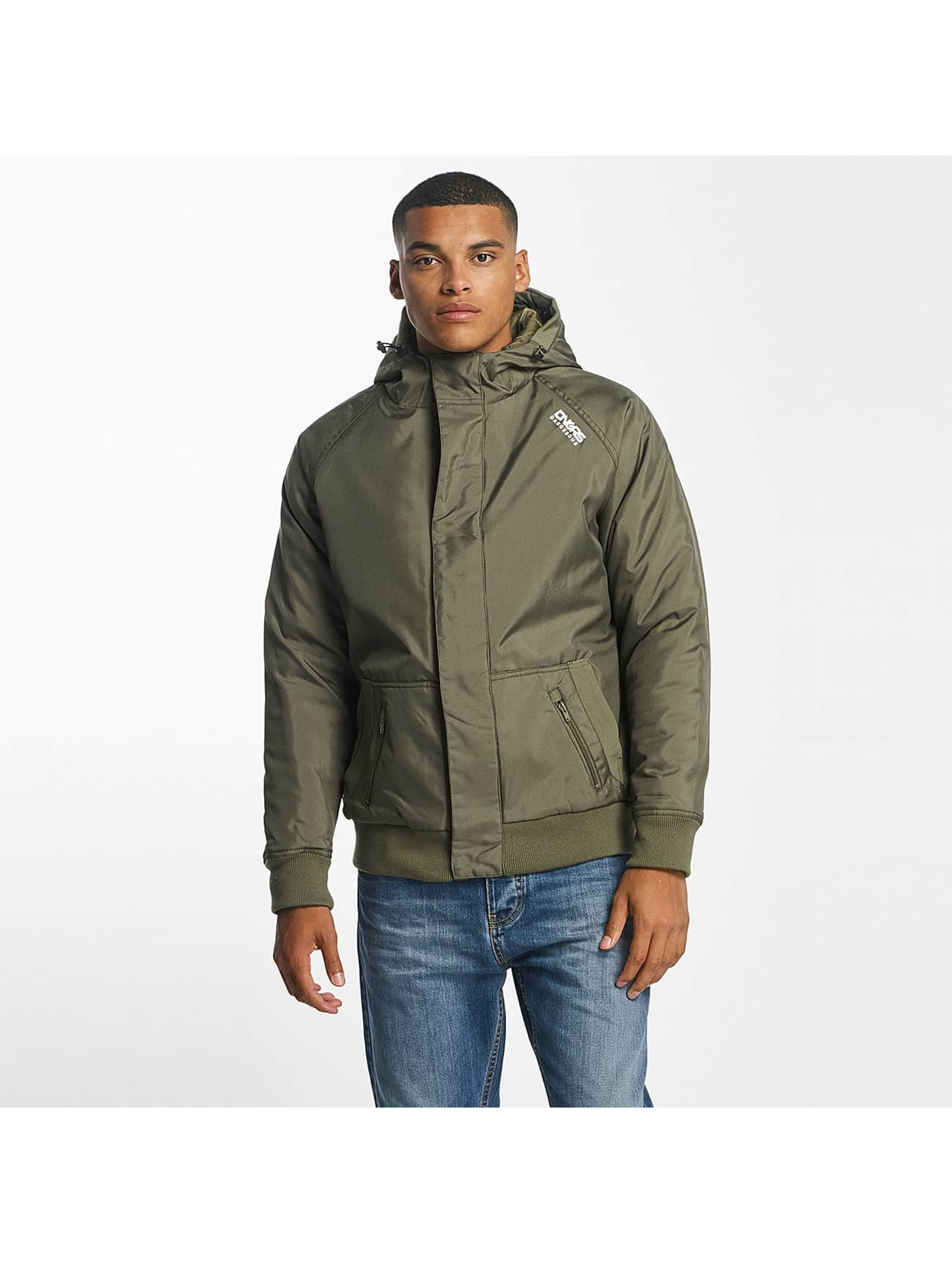 Dangerous DNGRS / Winter Jacket Orlando in olive L