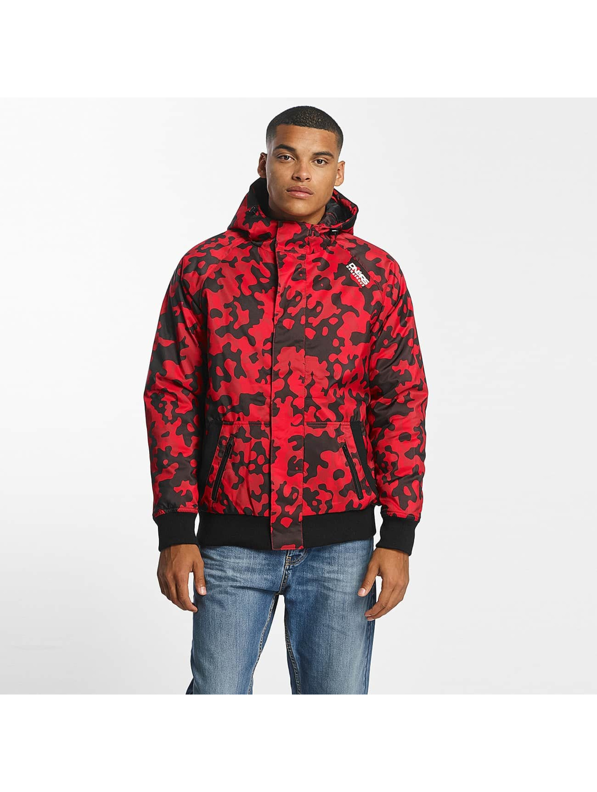 Dangerous DNGRS / Winter Jacket Orlando in red 3XL