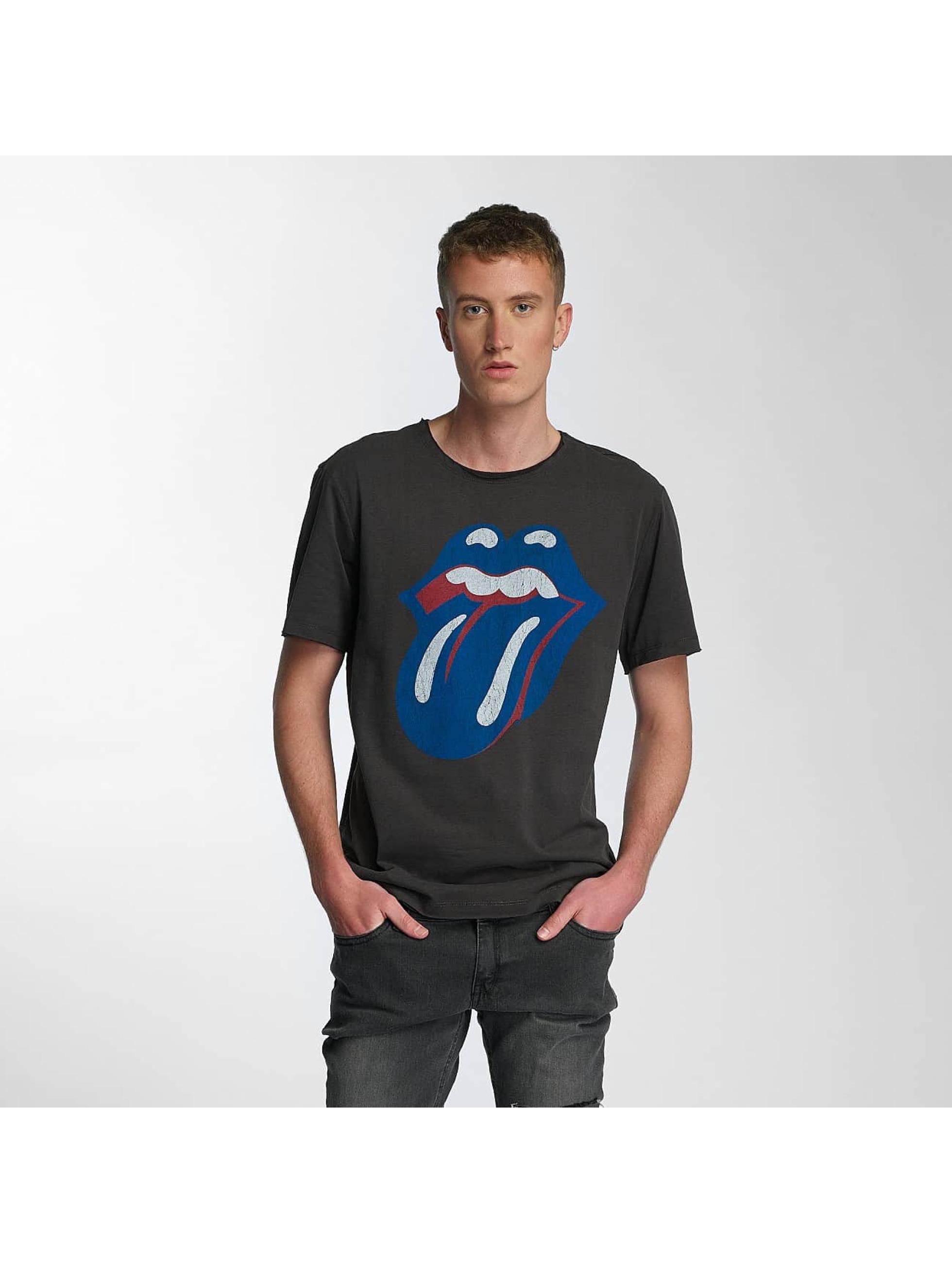 Amplified Männer T-Shirt Rolling Stones Blue und Lonesome in grau