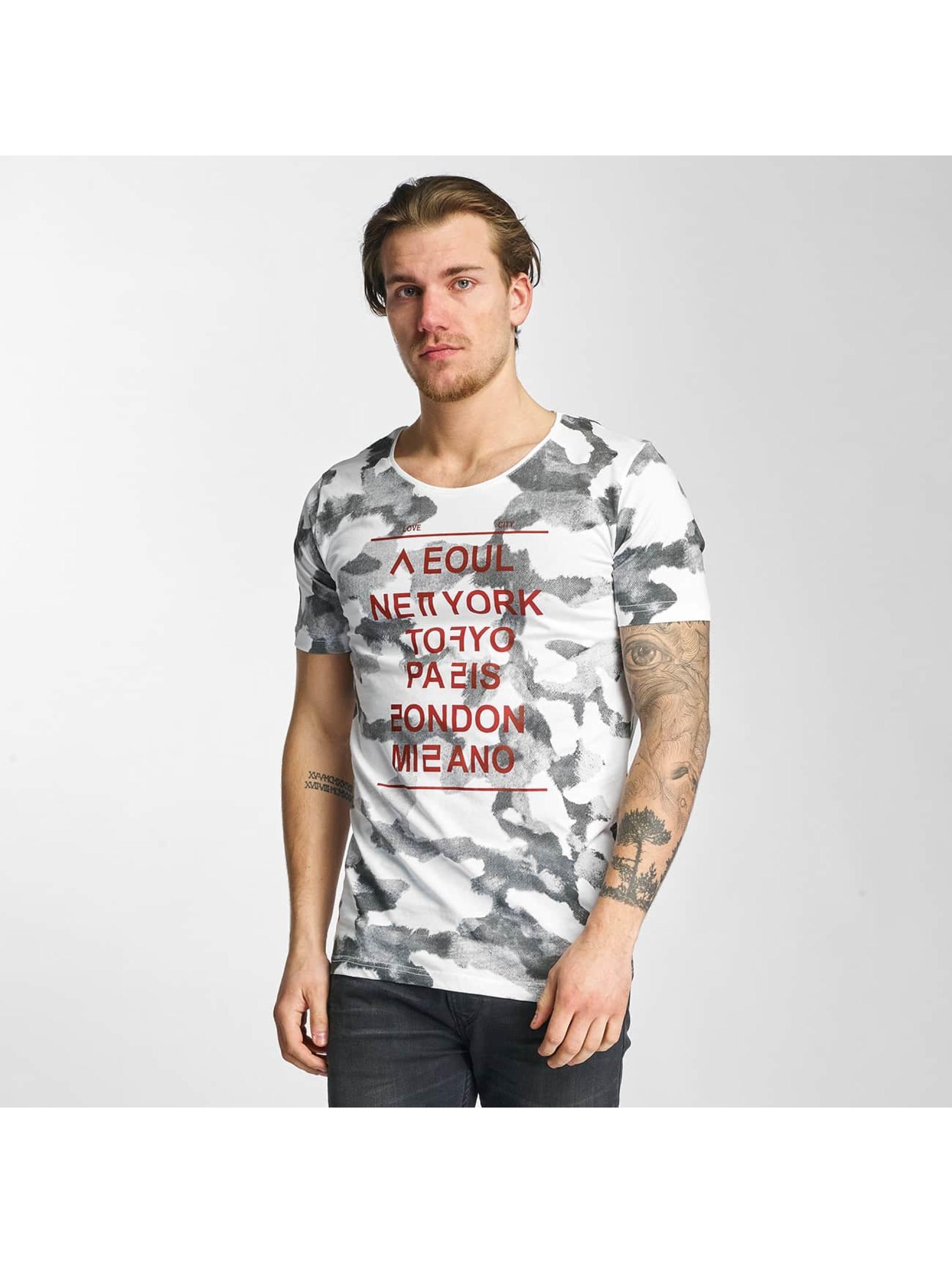 2Y Männer T-Shirt City Love in weiß