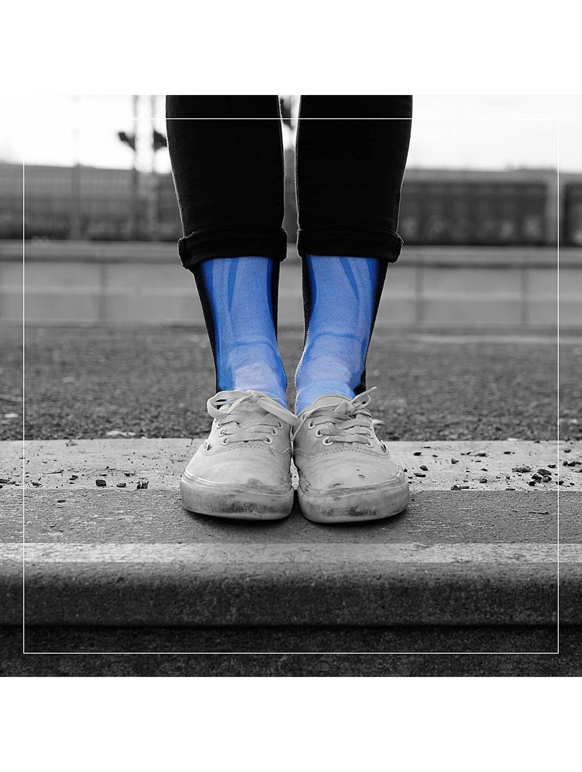 LUF SOX Männer,Frauen Socken X-Ray in schwarz
