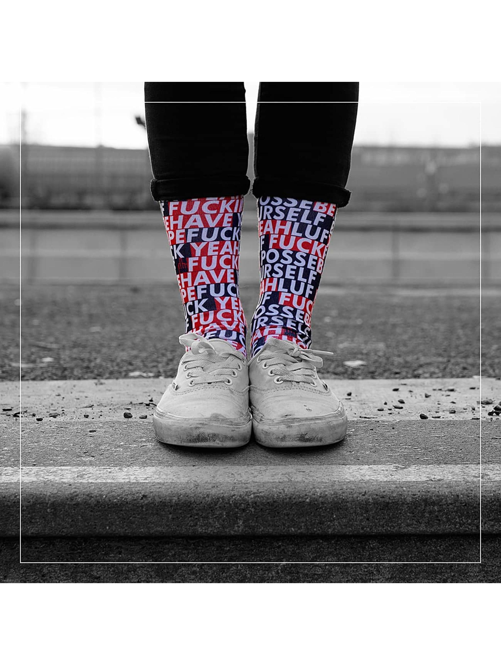 LUF SOX Männer,Frauen Socken Posse in bunt
