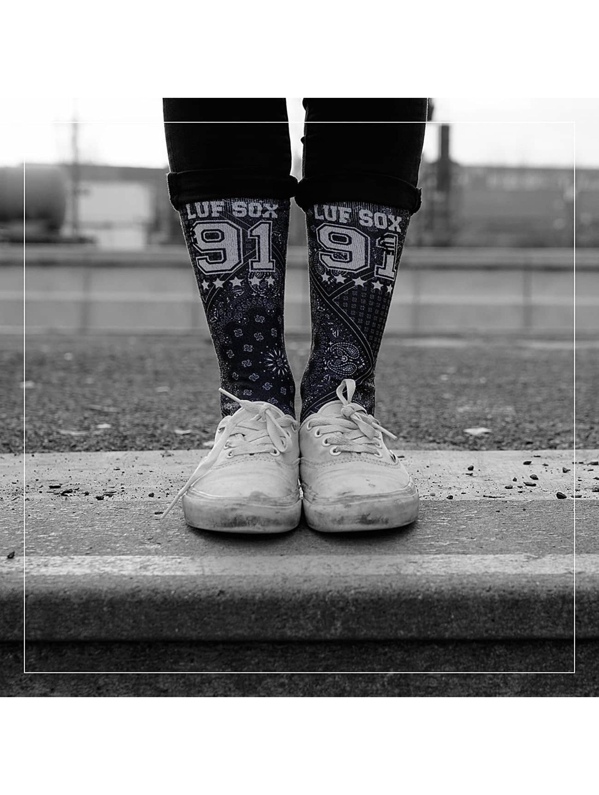 LUF SOX Männer,Frauen Socken Bandana in schwarz