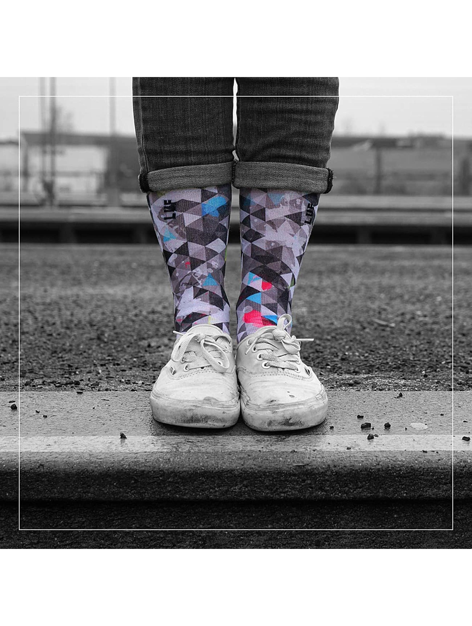 LUF SOX Männer,Frauen Socken Geogram in bunt