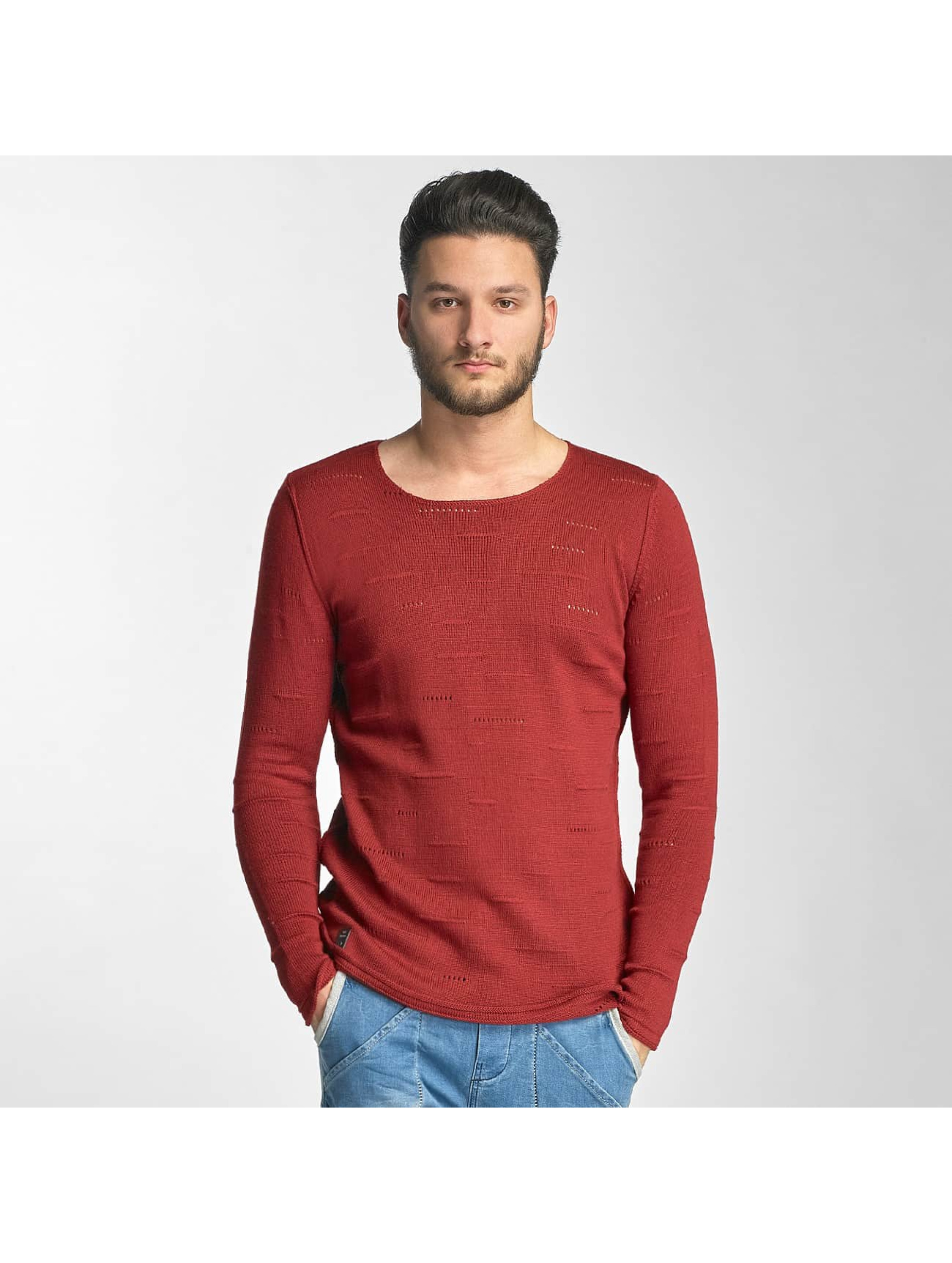 Red Bridge Männer Pullover Knit in rot