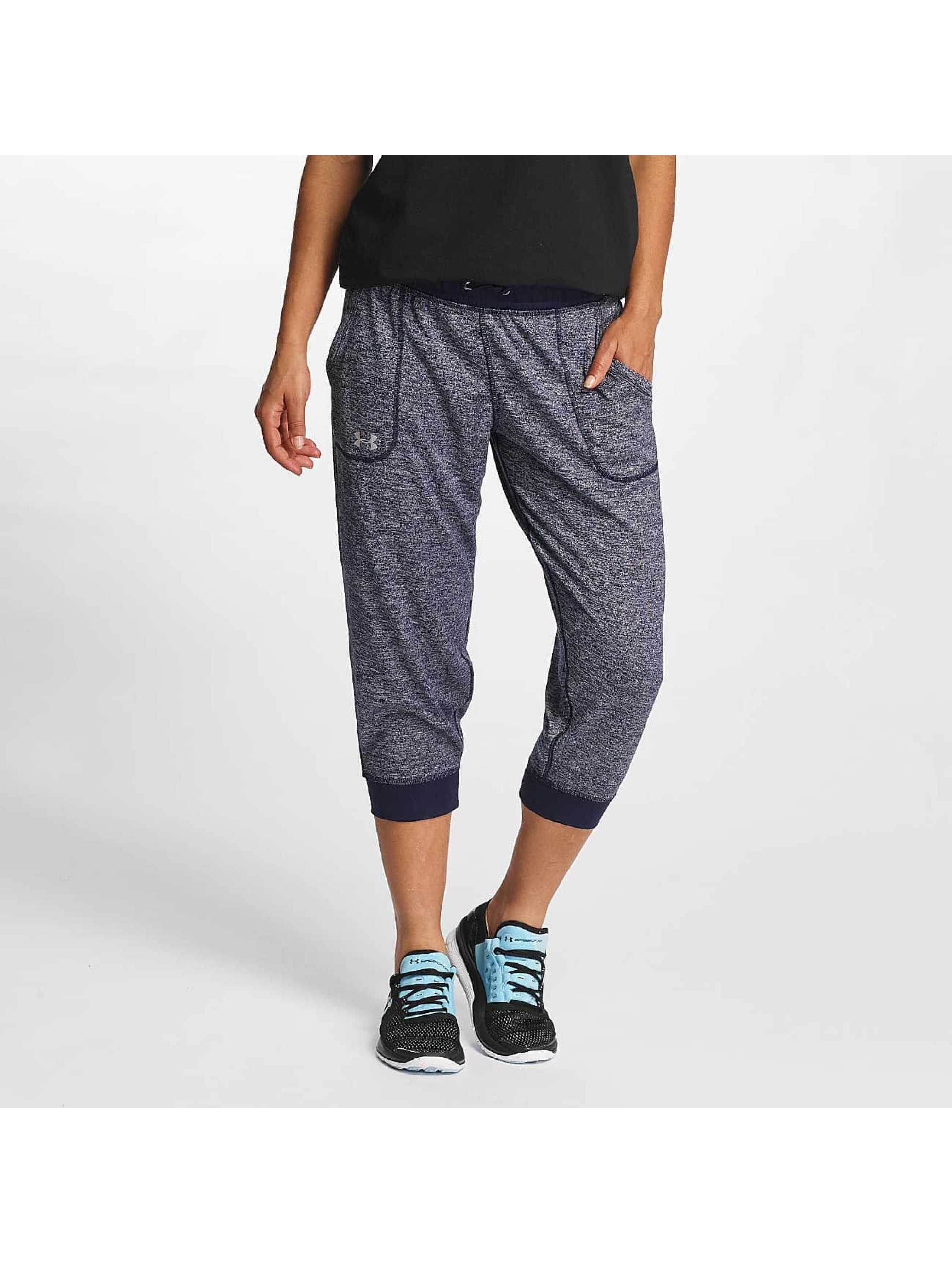 Under Armour Frauen Jogginghose Tech Capri Twist in blau