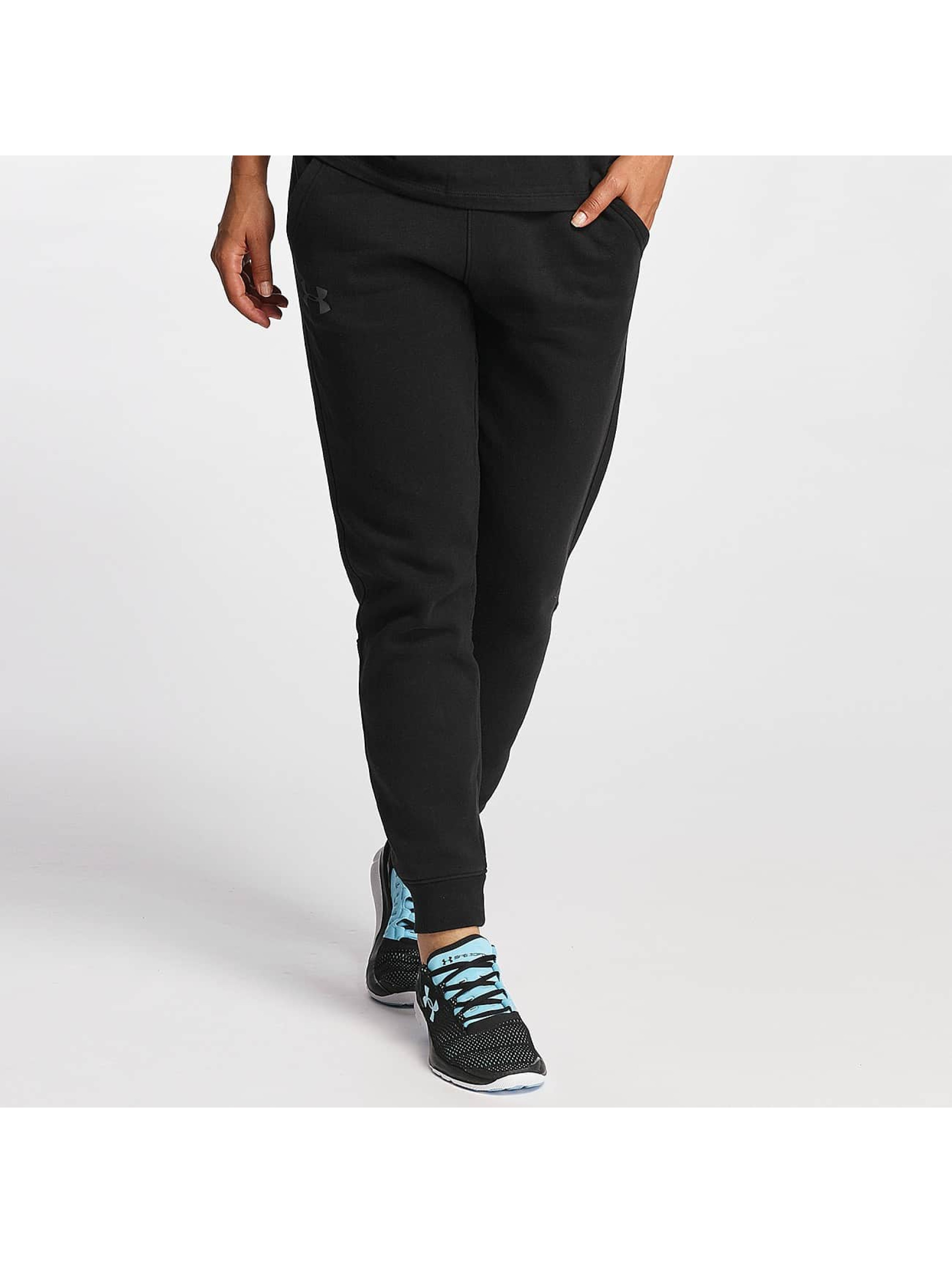 Under Armour Frauen Jogginghose Favorite Fleece in schwarz