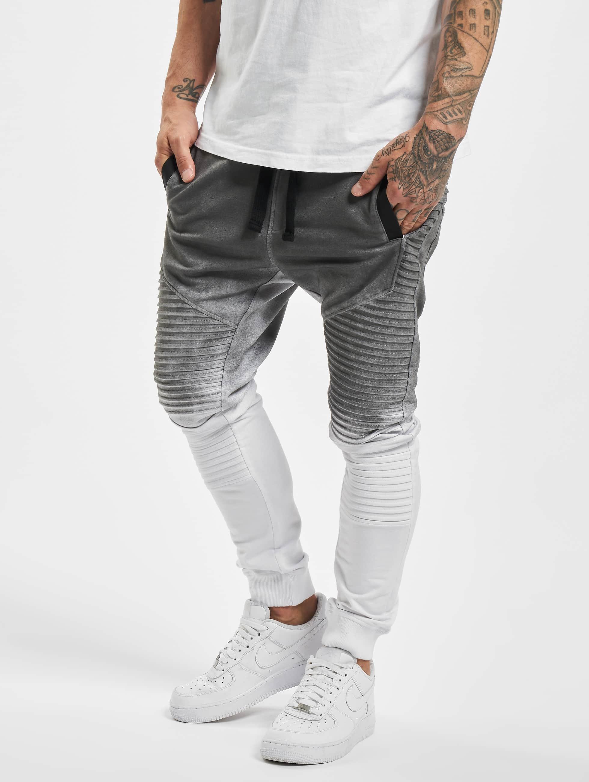 VSCT Clubwear Männer Jogginghose Biker in grau