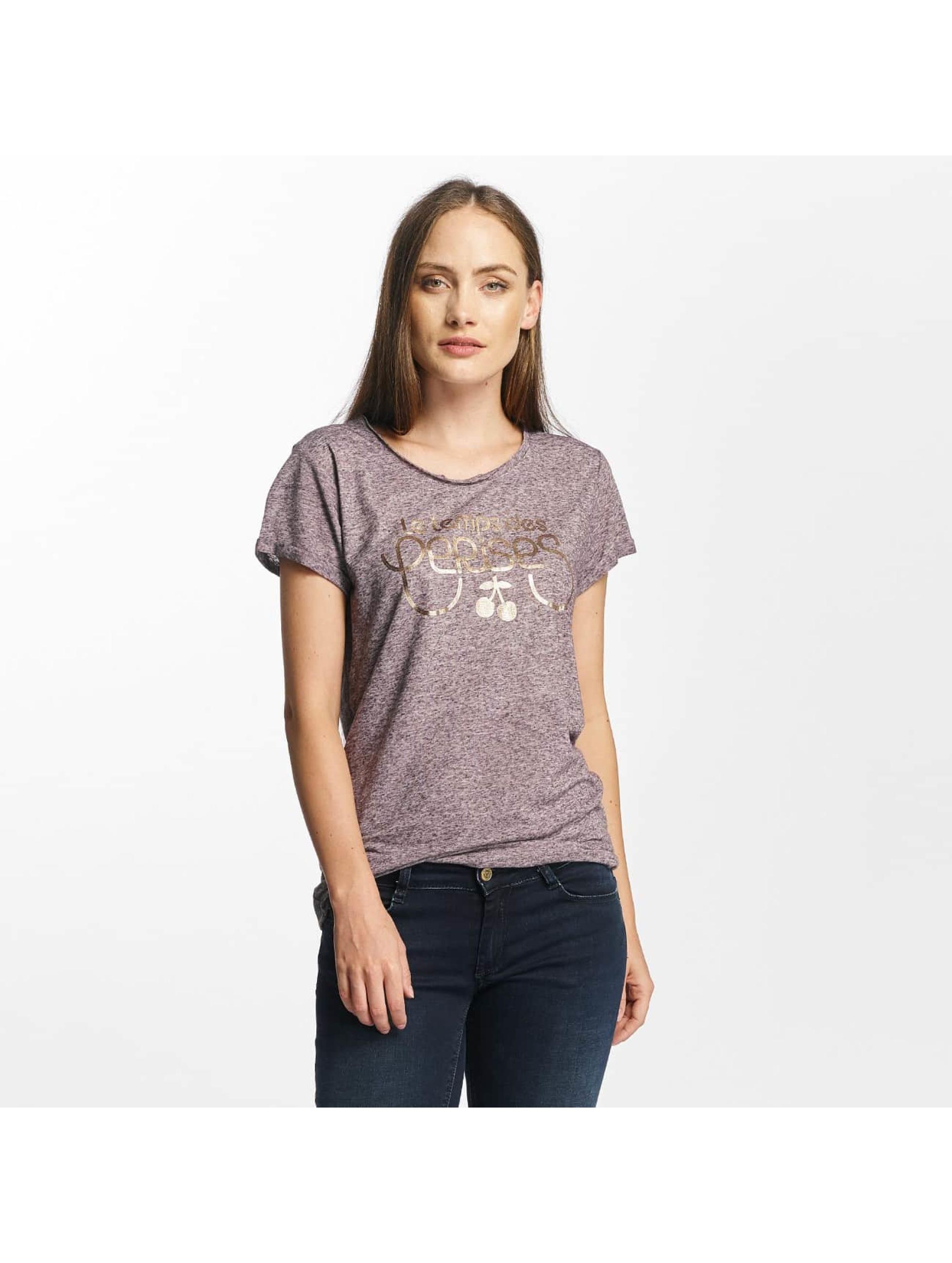 Le Temps Des Cerises Frauen T-Shirt Basitrame in violet