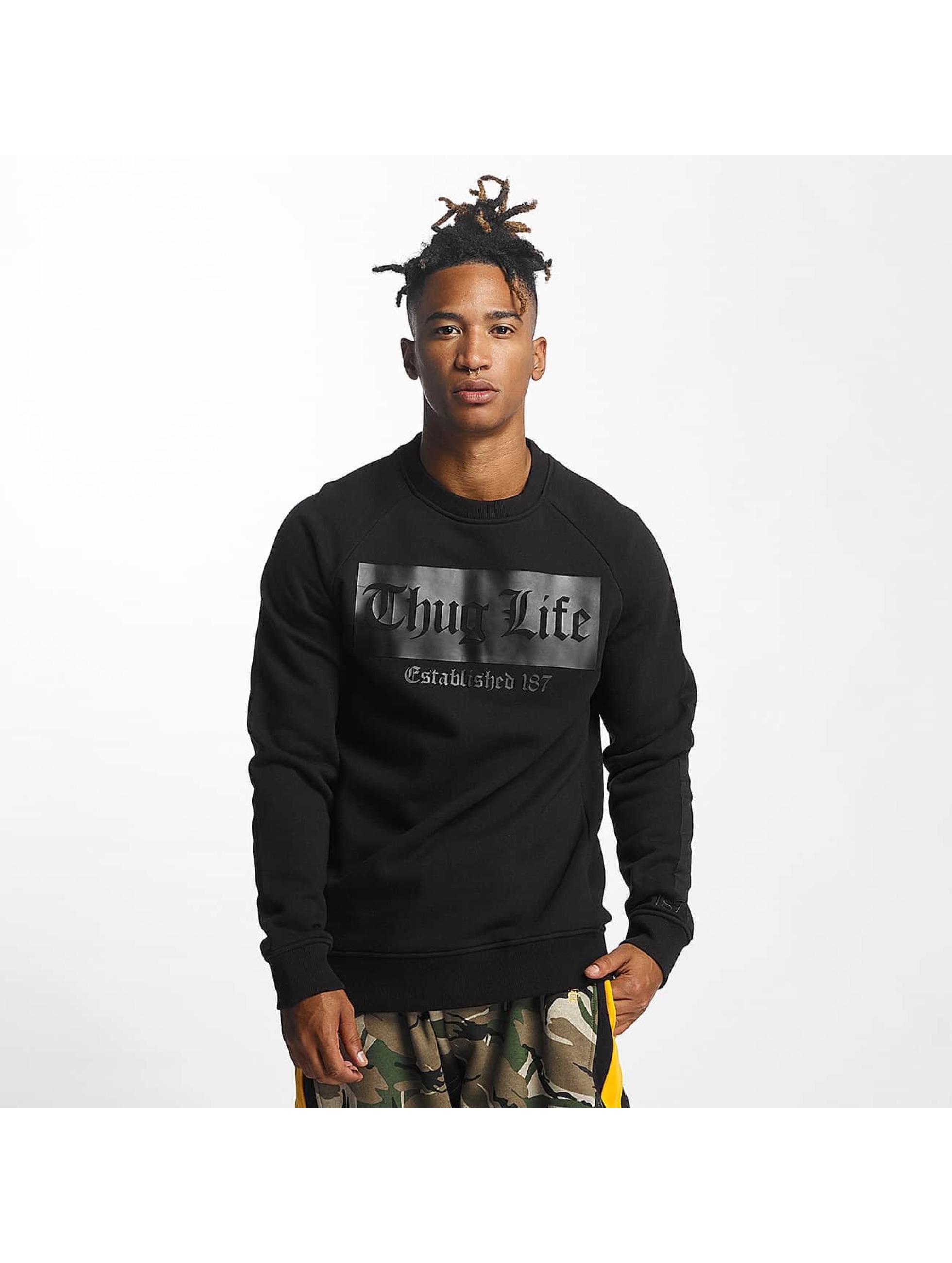 Thug Life / Jumper THGLFE in black XL