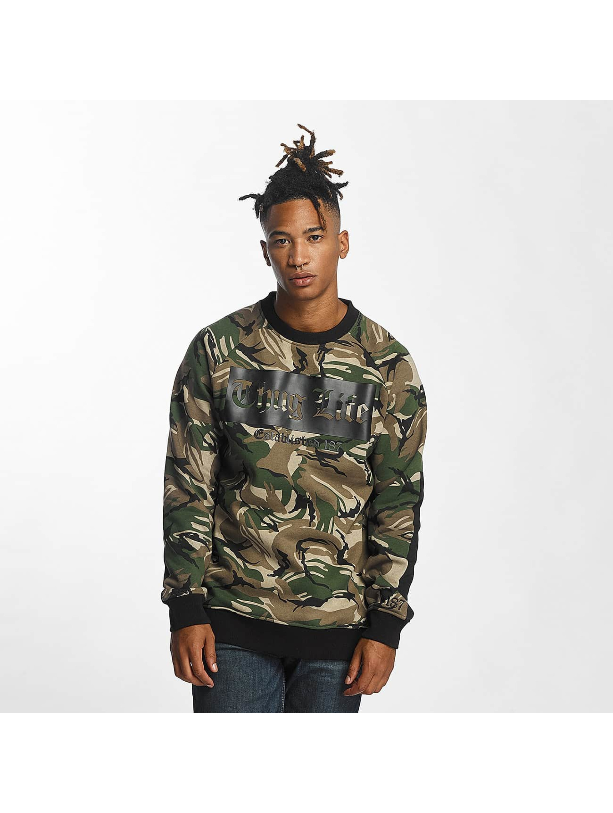 Thug Life Männer Pullover THGLFE in camouflage