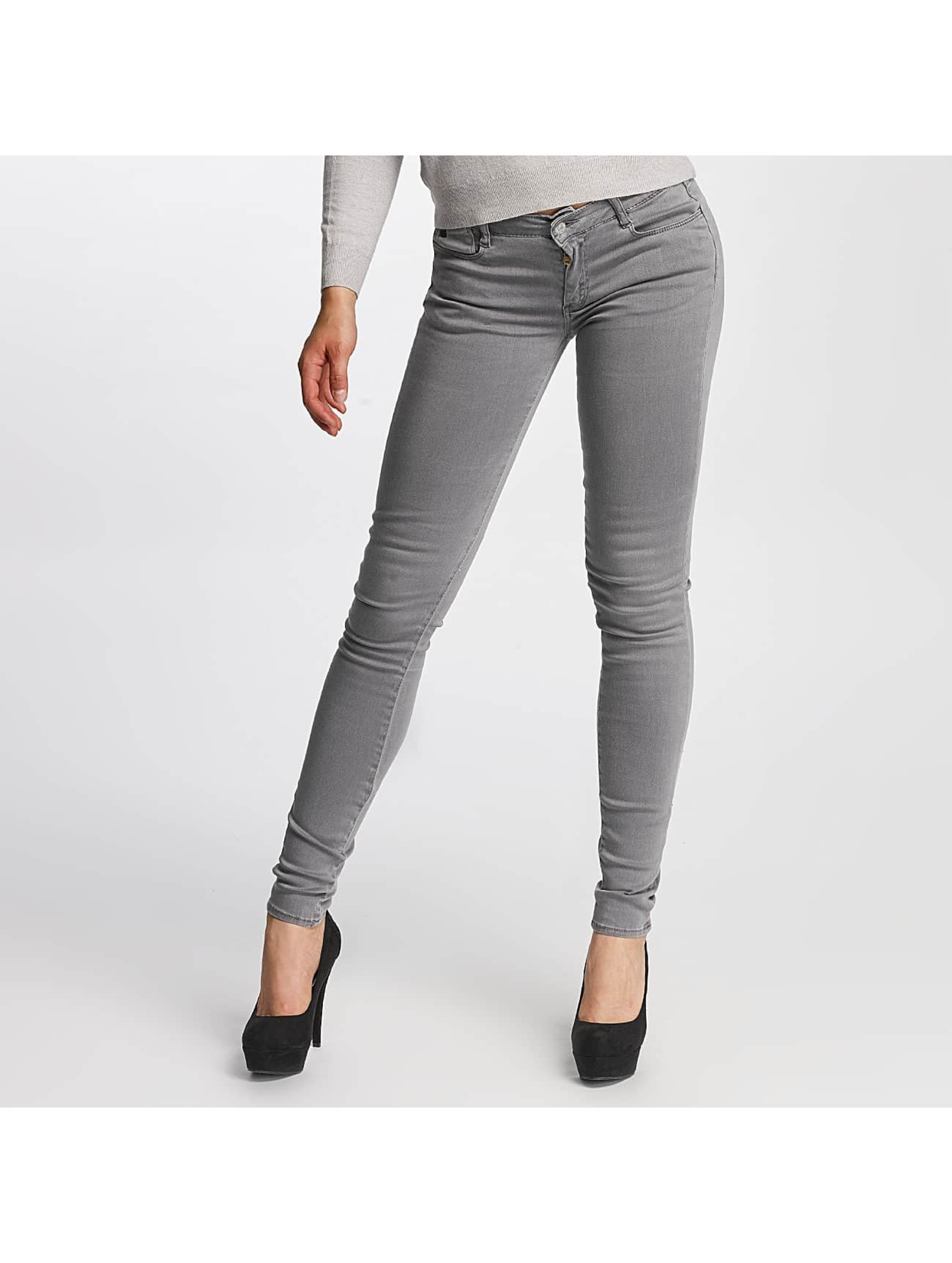 Le Temps Des Cerises Frauen Slim Fit Jeans Ultrapower in grau