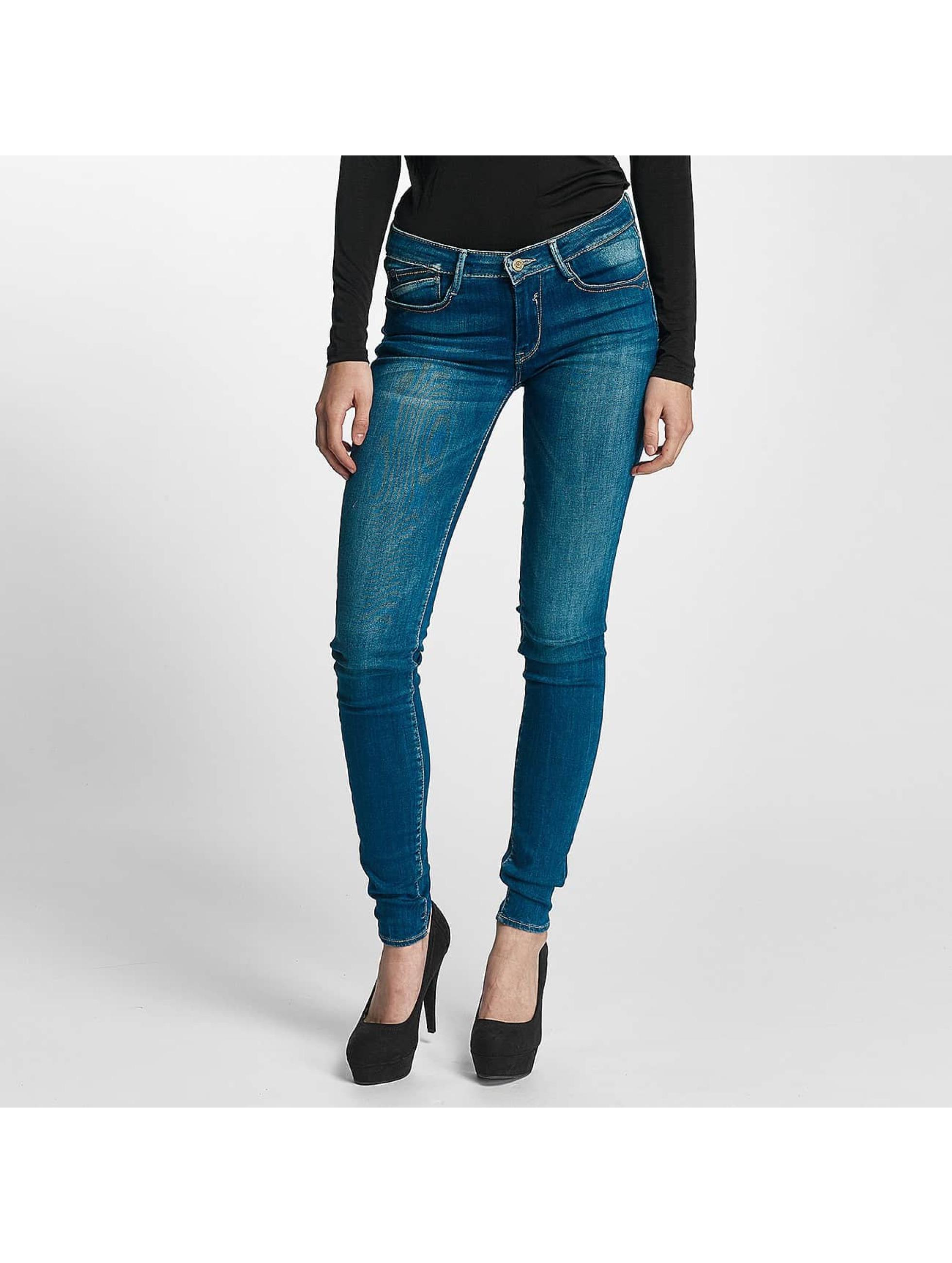 Le Temps Des Cerises Frauen Slim Fit Jeans Des Cerises in blau