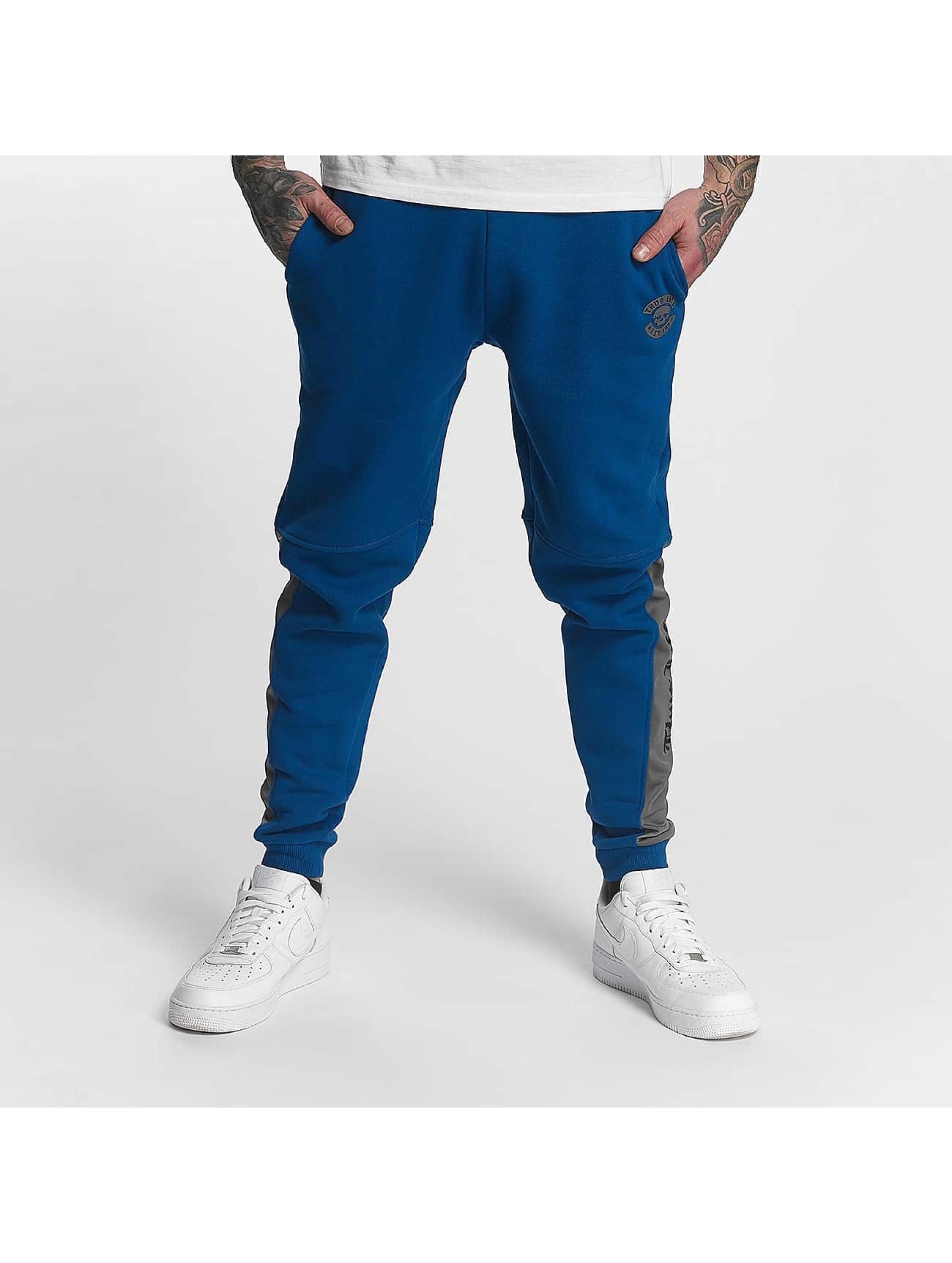 Thug Life Männer Jogginghose Kurgan in blau