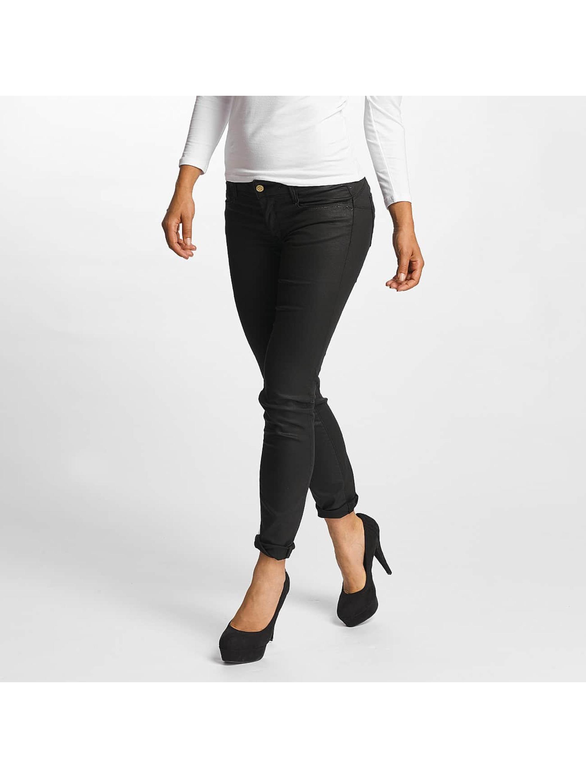 Le Temps Des Cerises Frauen Slim Fit Jeans Pulp Slim Fit in schwarz