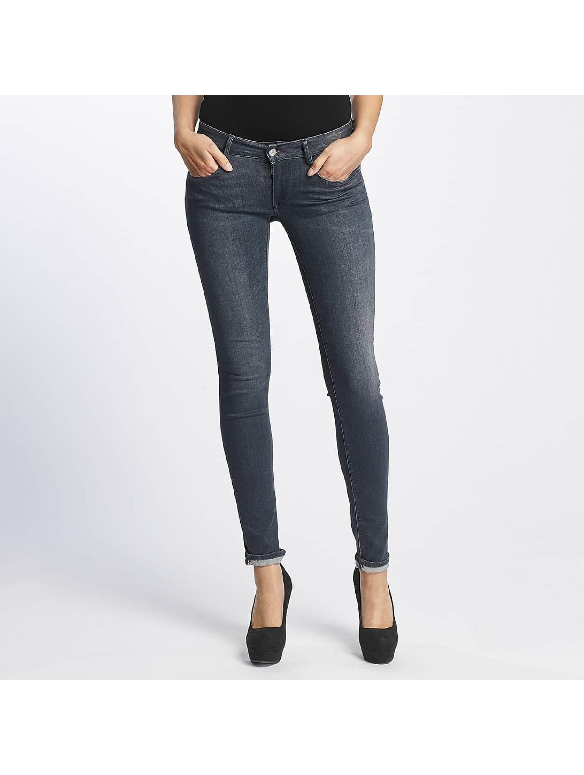 Le Temps Des Cerises Frauen Slim Fit Jeans Pulp Slim Fit in grau
