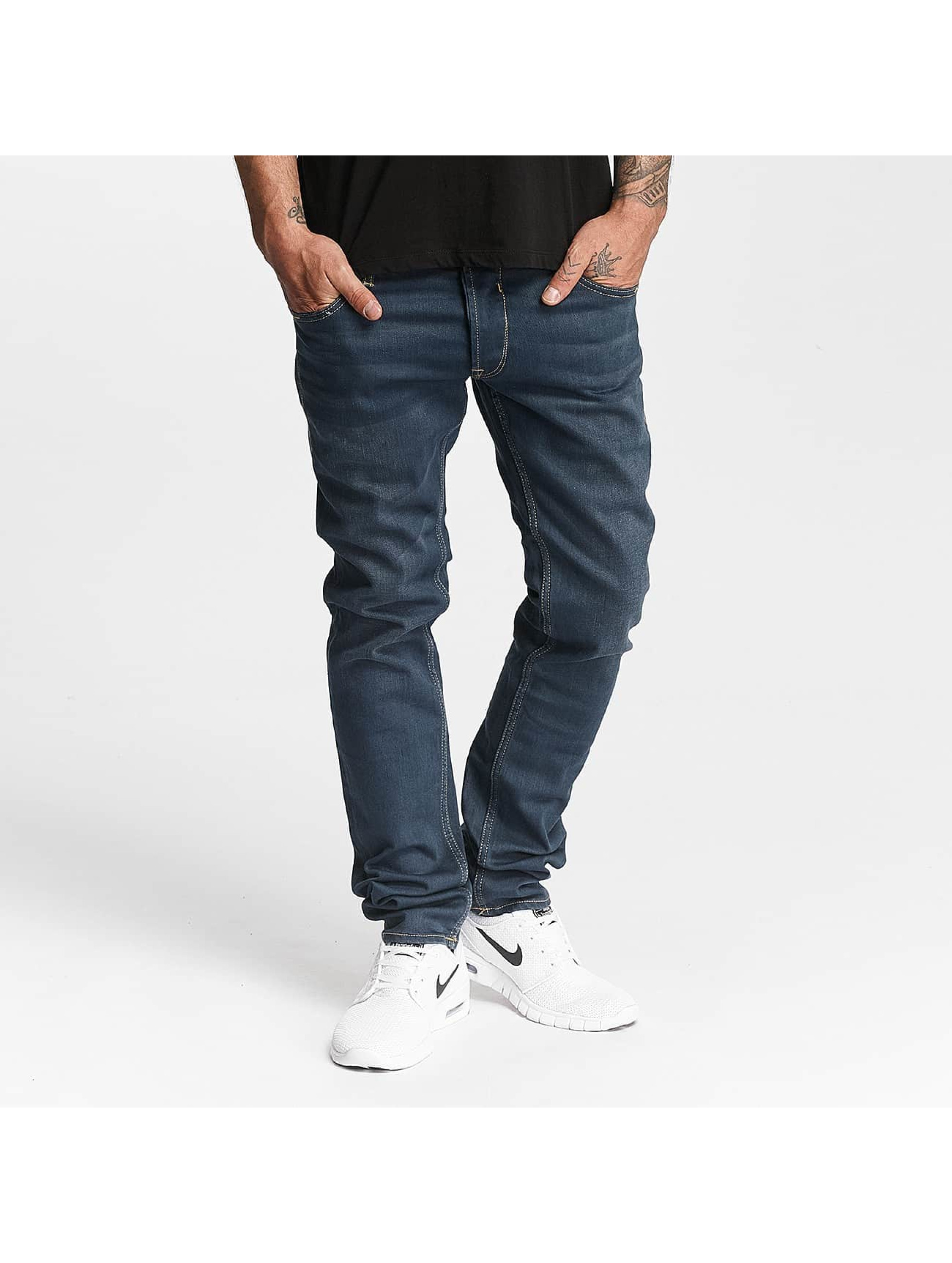Le Temps Des Cerises Männer Straight Fit Jeans 711 Basic in blau