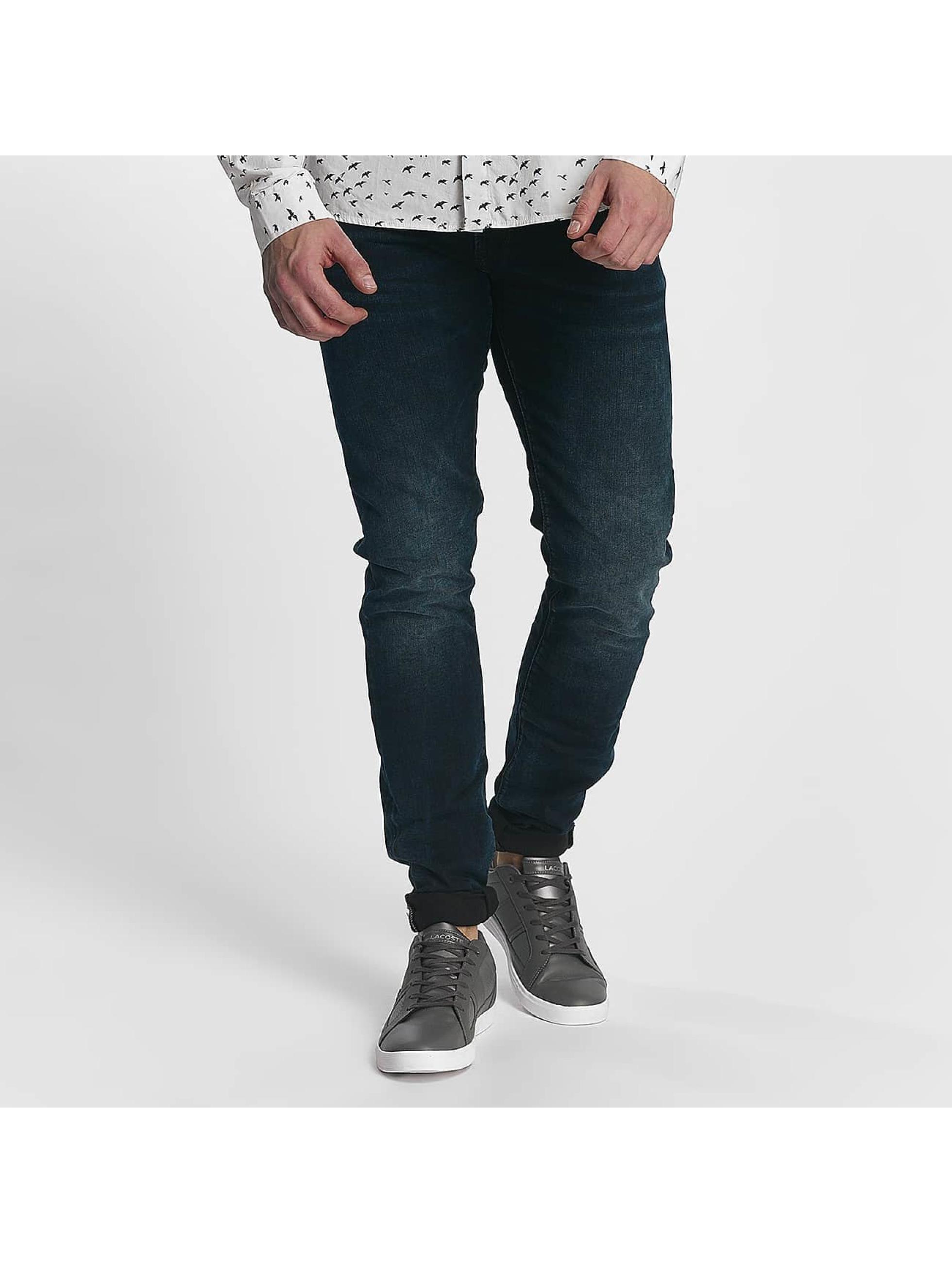 Le Temps Des Cerises Männer Straight Fit Jeans 812 in blau