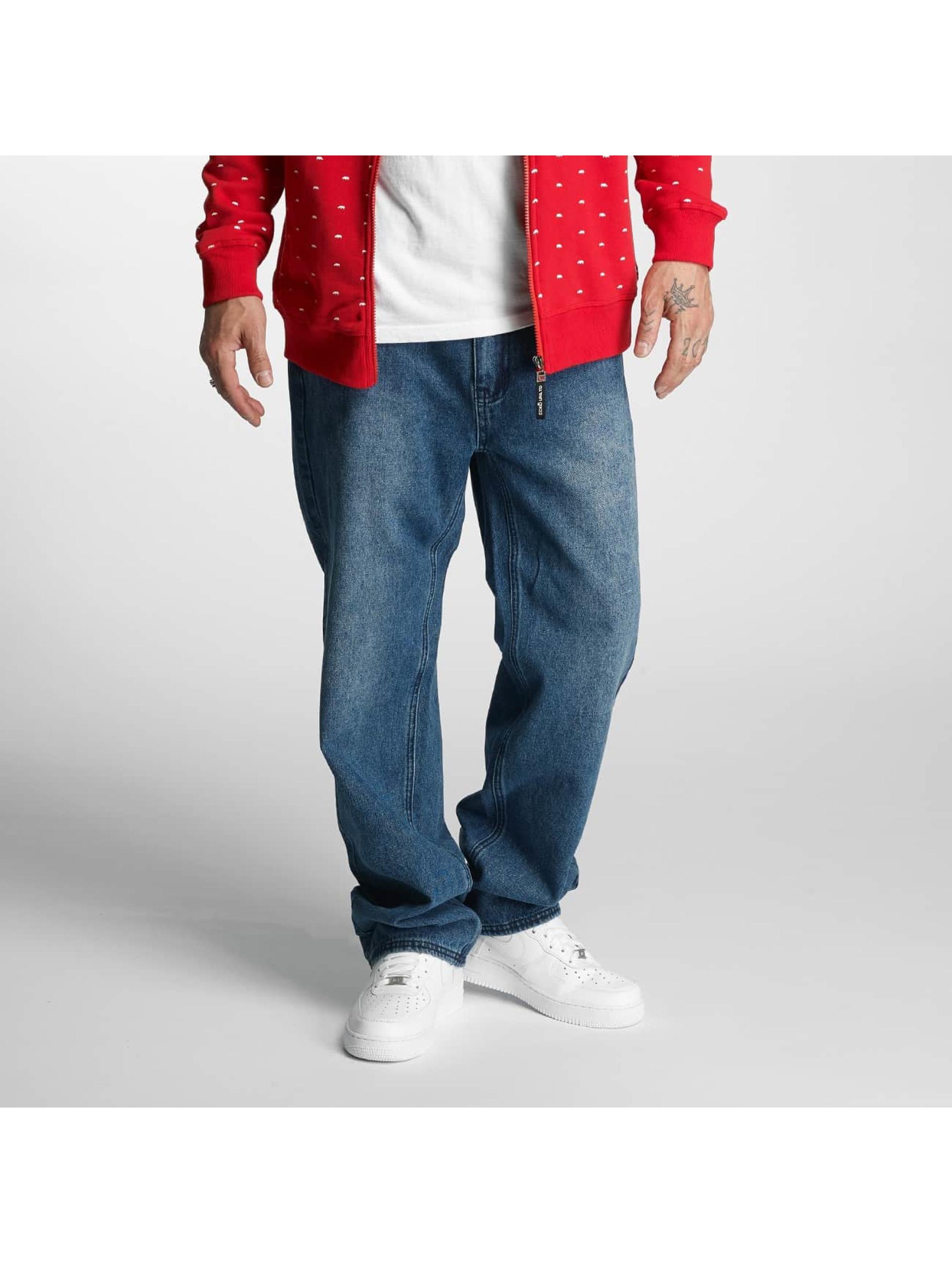 Ecko Unltd. / Straight Fit Jeans Illuminati in blue W 30 L 32