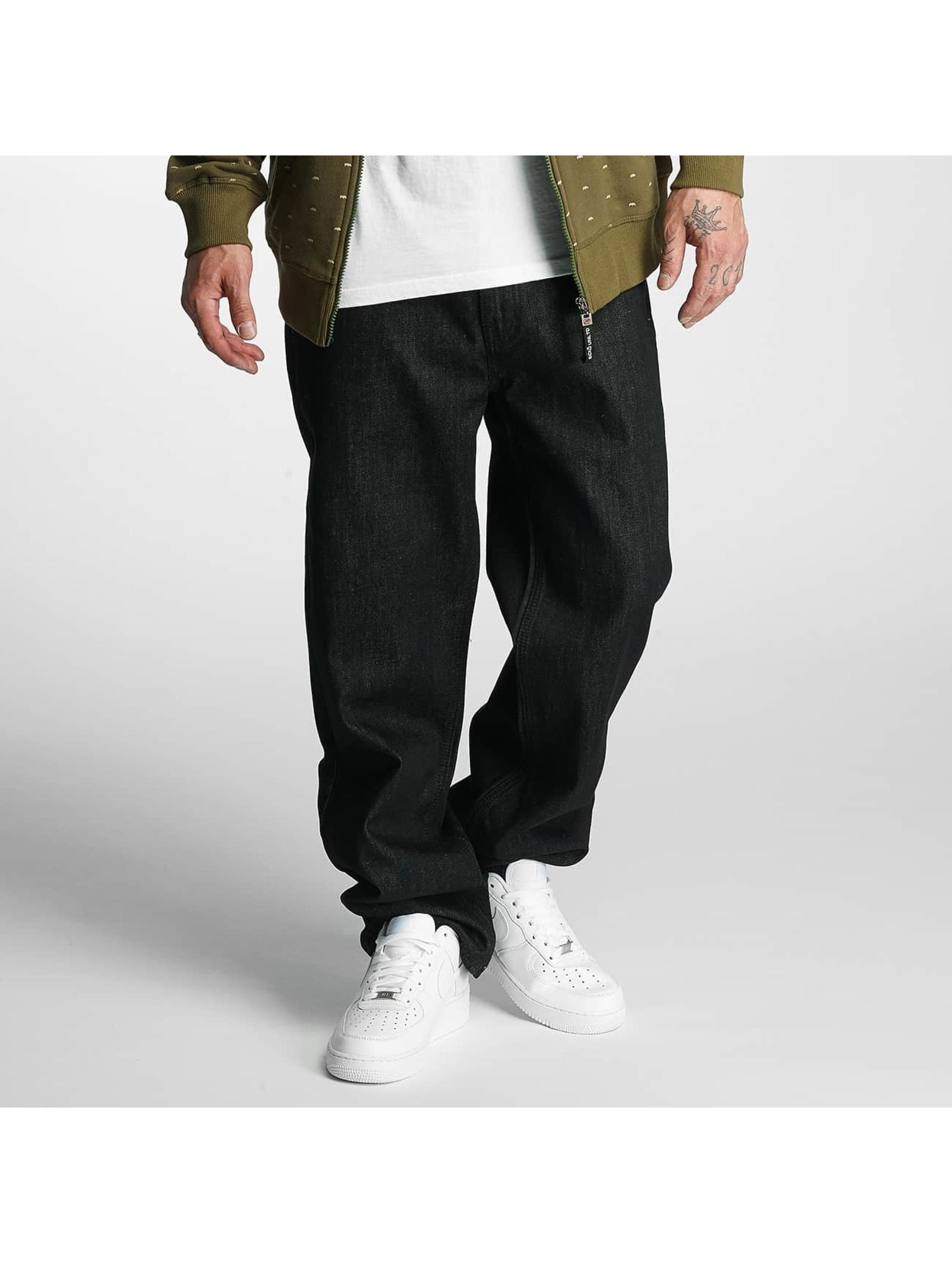 Ecko Unltd. Männer Loose Fit Jeans Gravity in schwarz