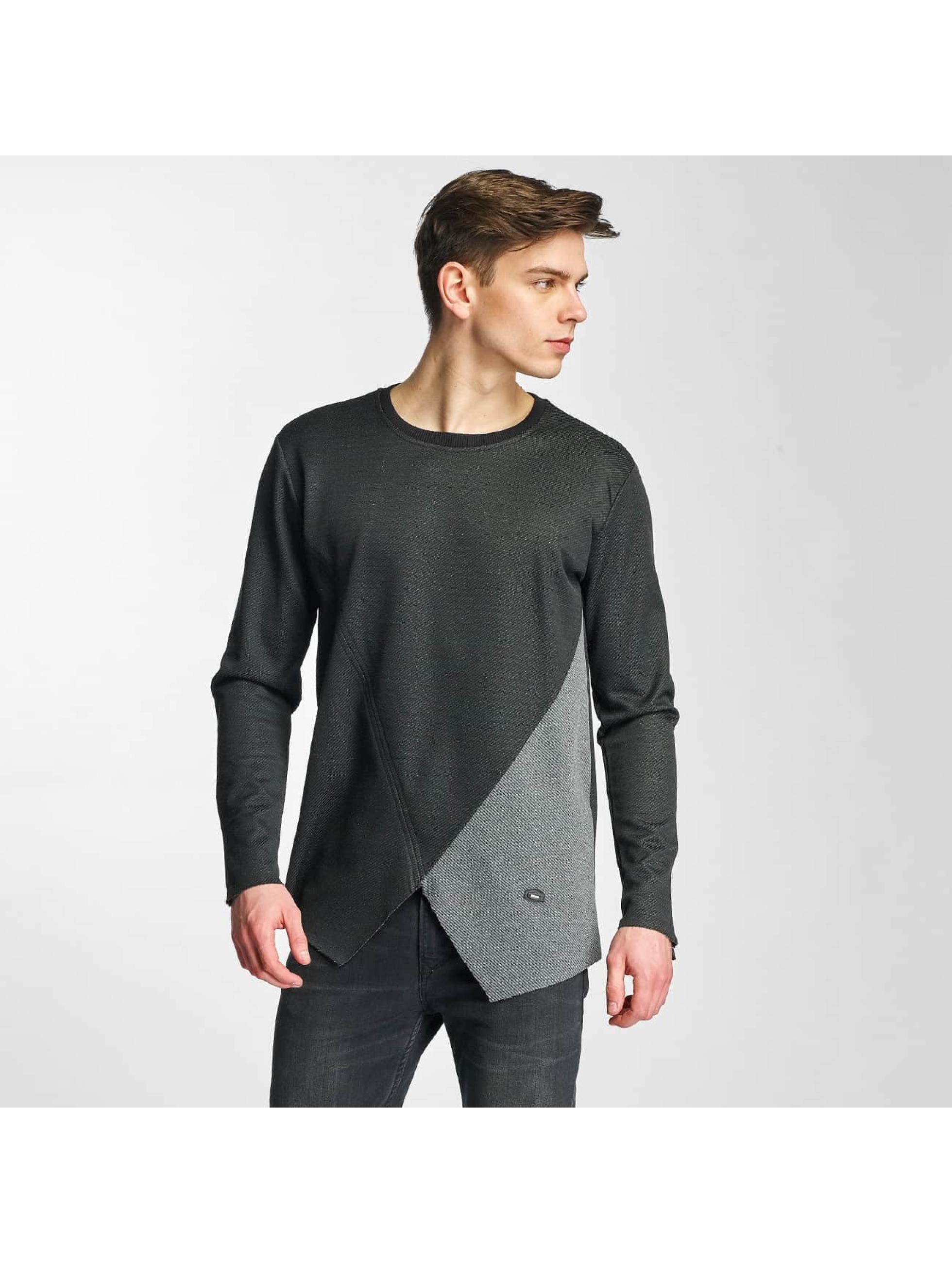Cipo & Baxx Männer Pullover Kanzi in schwarz