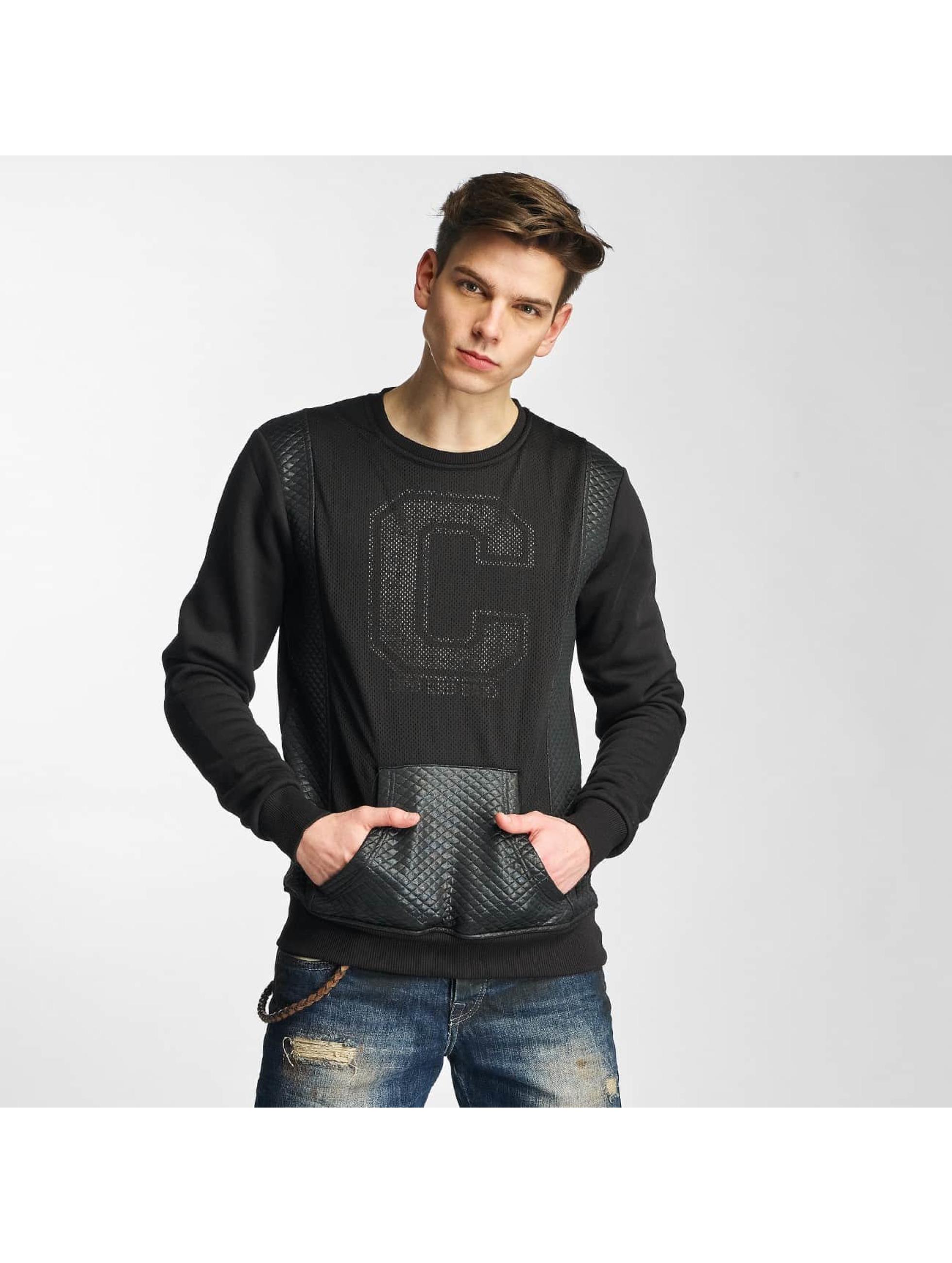 Cipo & Baxx Männer Pullover Niam in schwarz