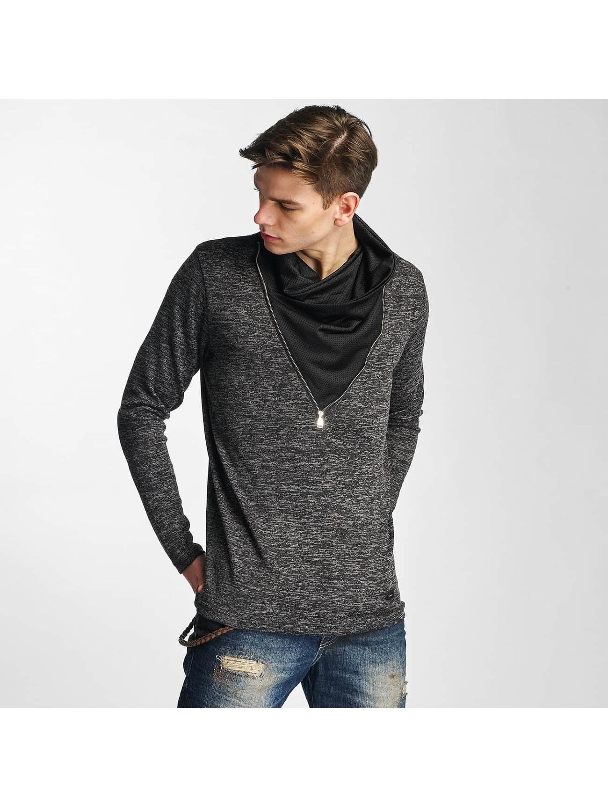 Cipo & Baxx Männer Pullover Damba in schwarz