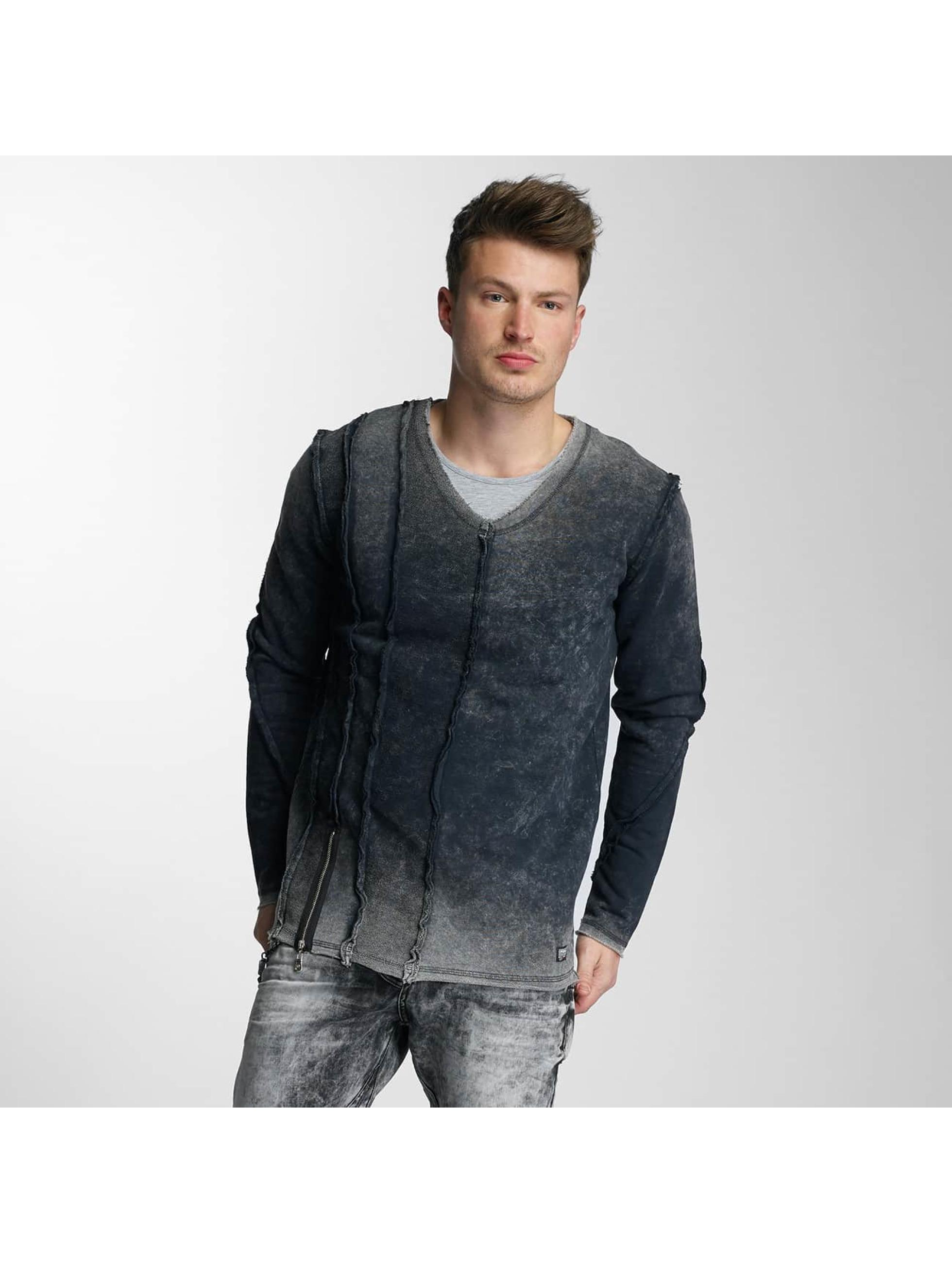 Cipo & Baxx Männer Pullover Hauganes in grau