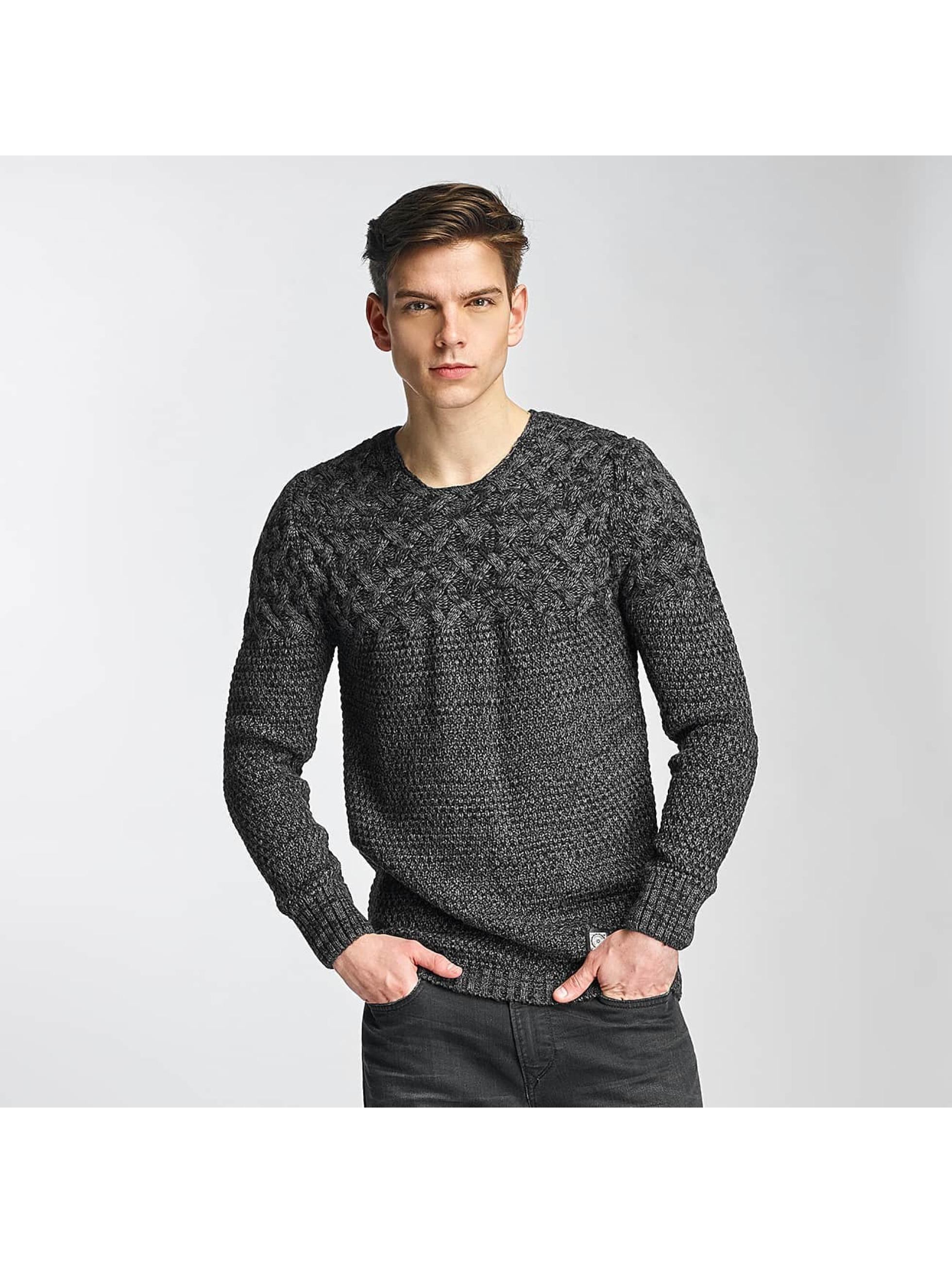 Cipo & Baxx Männer Pullover Adisa in grau