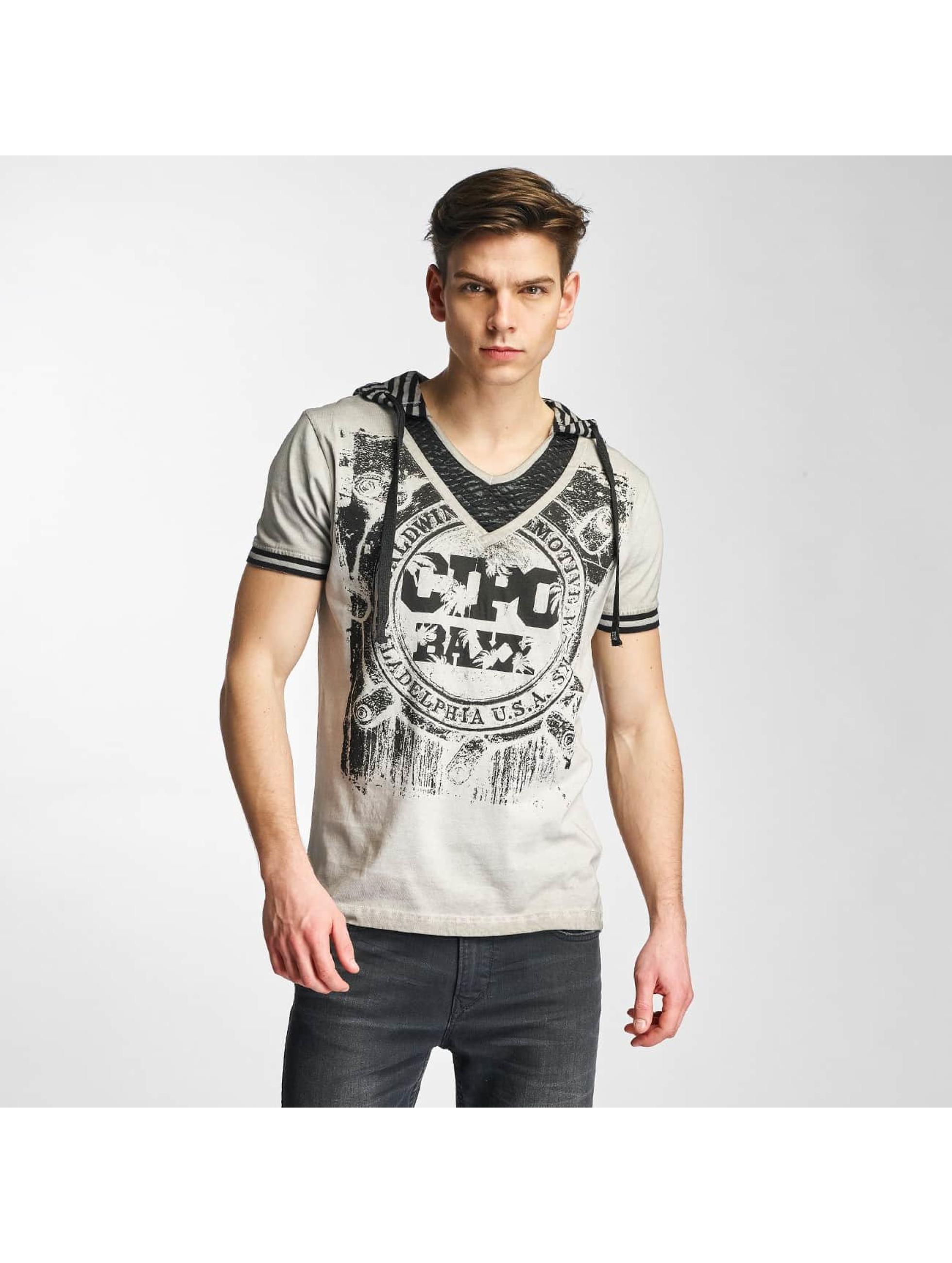 Cipo & Baxx Männer T-Shirt Drago in grau