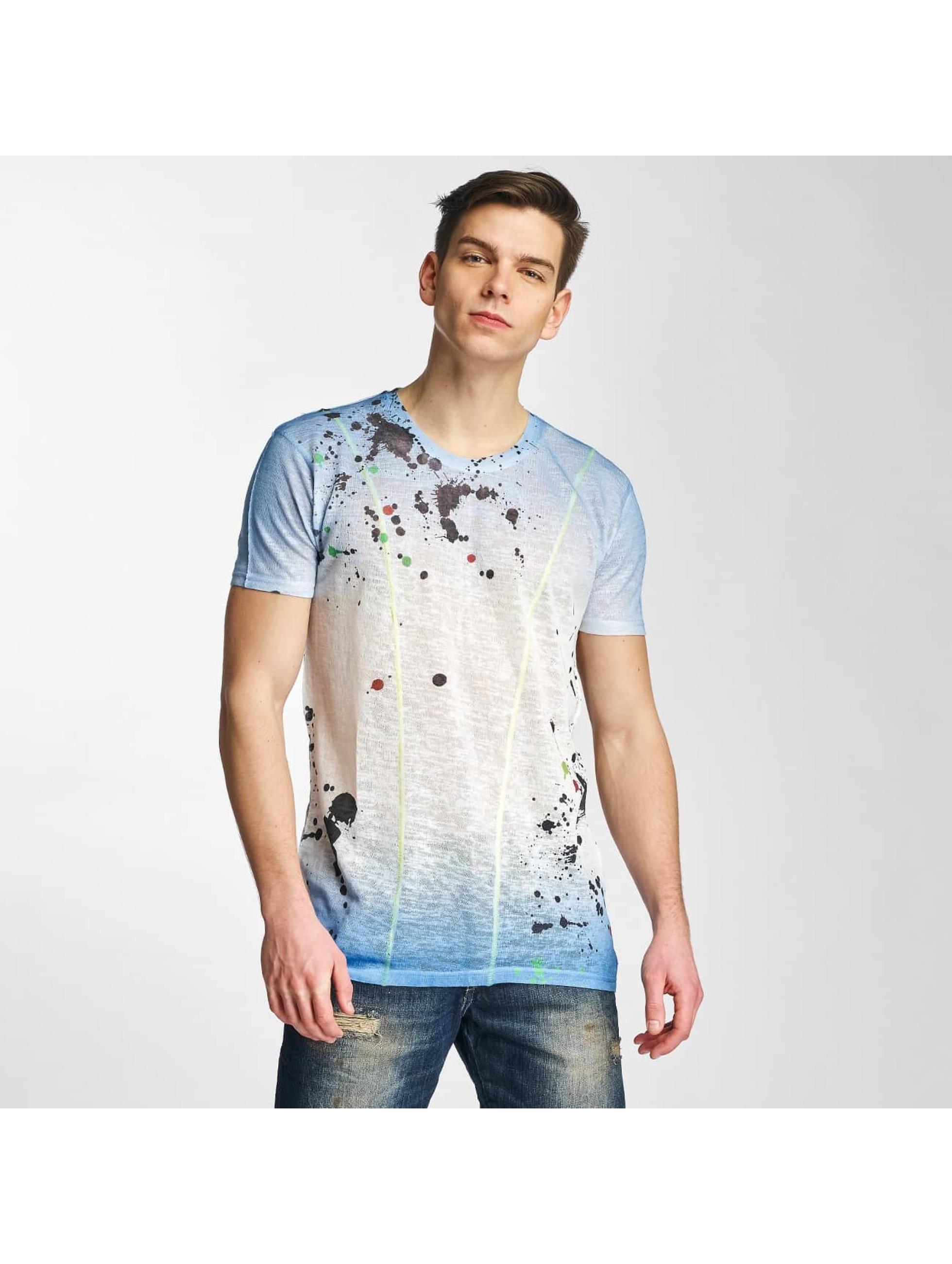 Cipo & Baxx Männer T-Shirt Paint in indigo