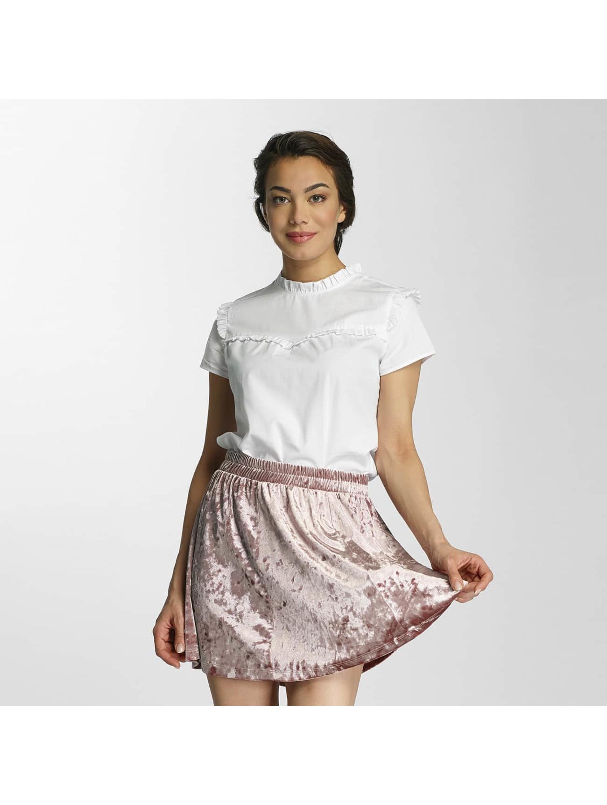 Werben Angebote Only Frauen Bluse onlOzzy Small Frill in weiß