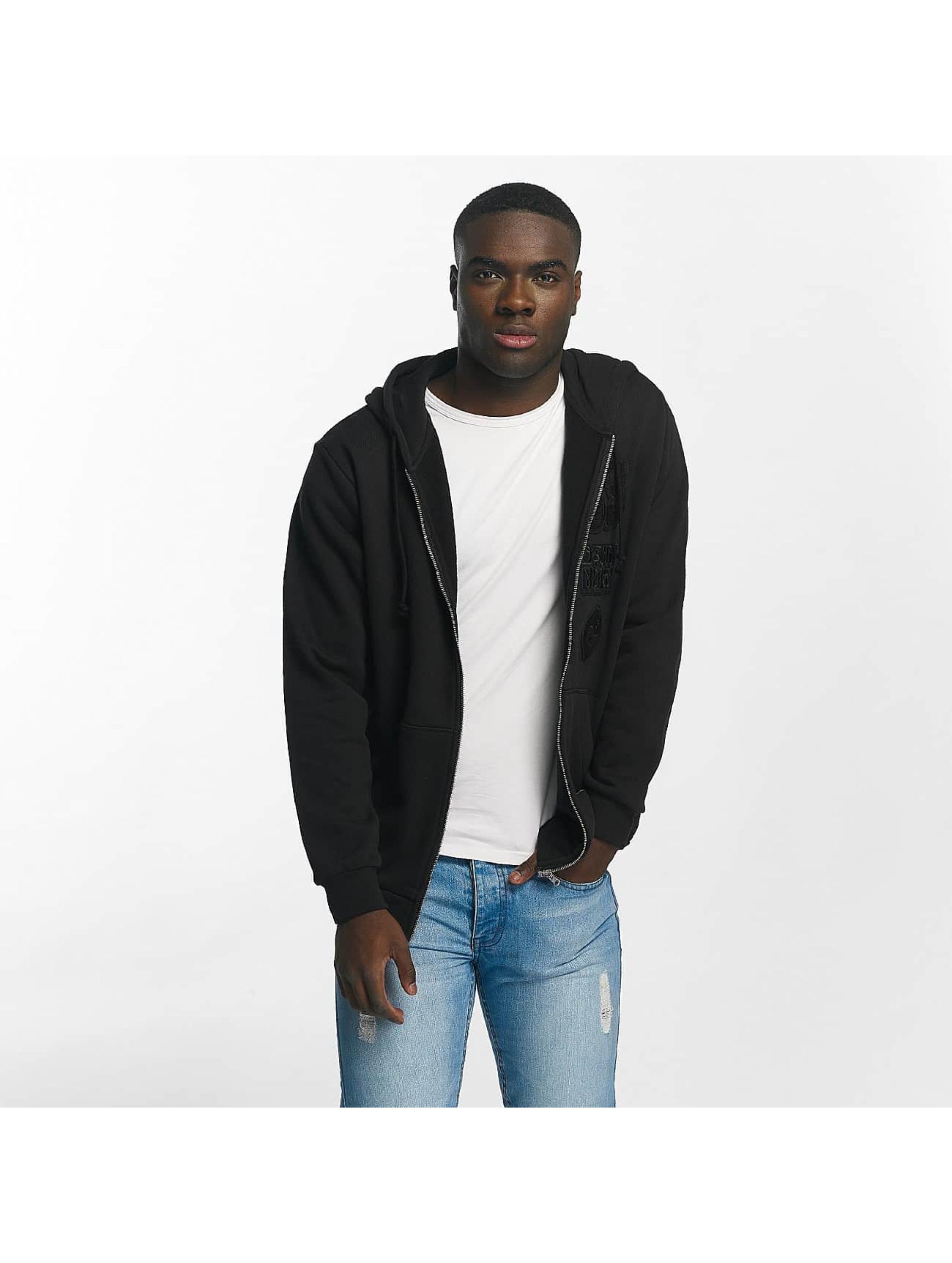 adidas Männer Zip Hoodie Winter Zip in schwarz