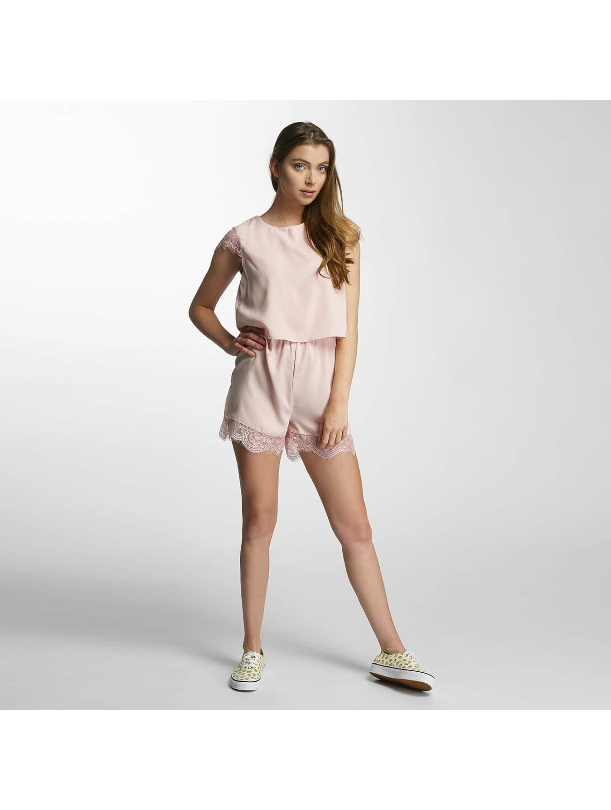 Only Frauen Jumpsuit onlSwing Cap in rosa