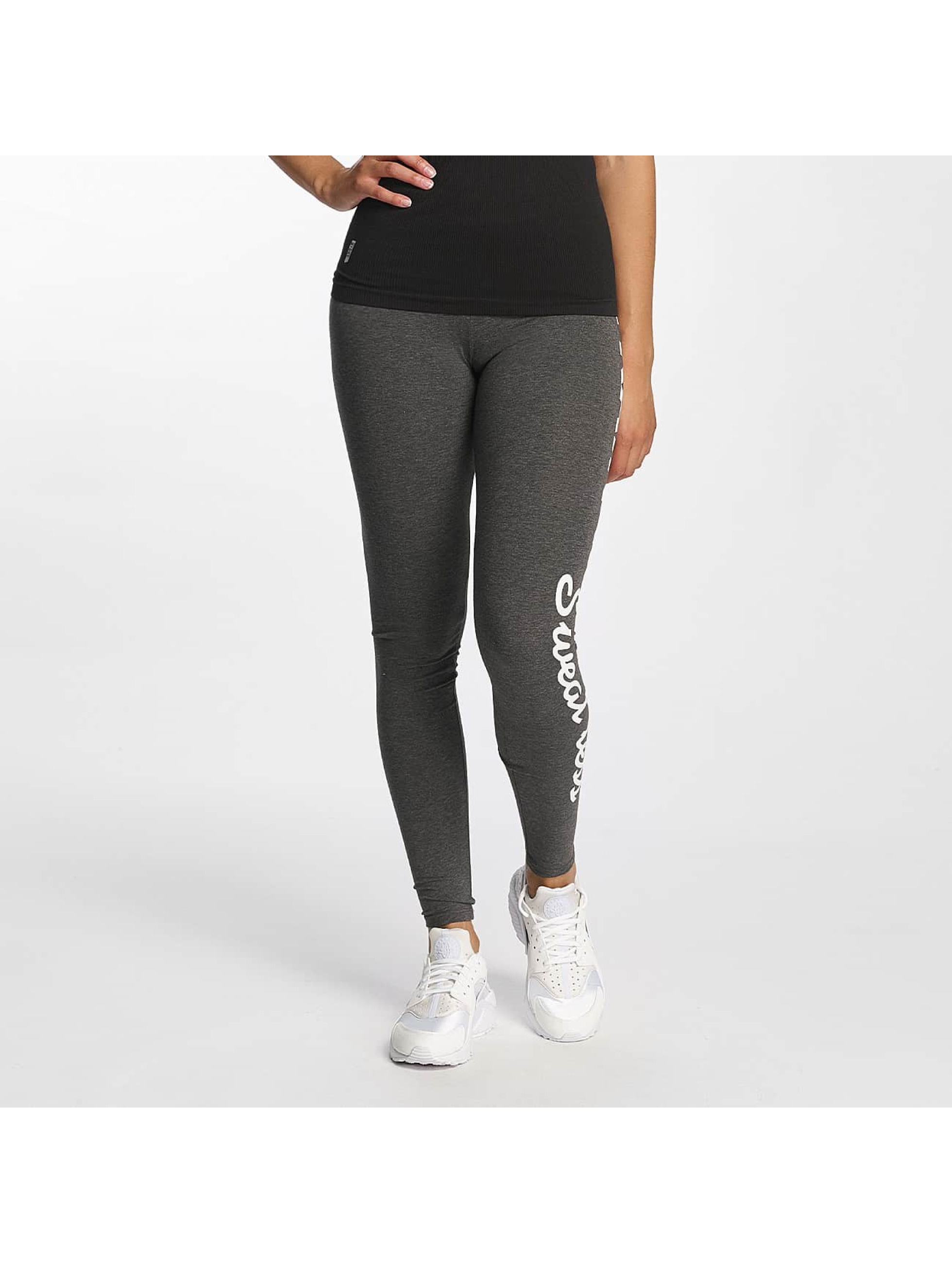 Only Frauen Legging onlTraining in grau