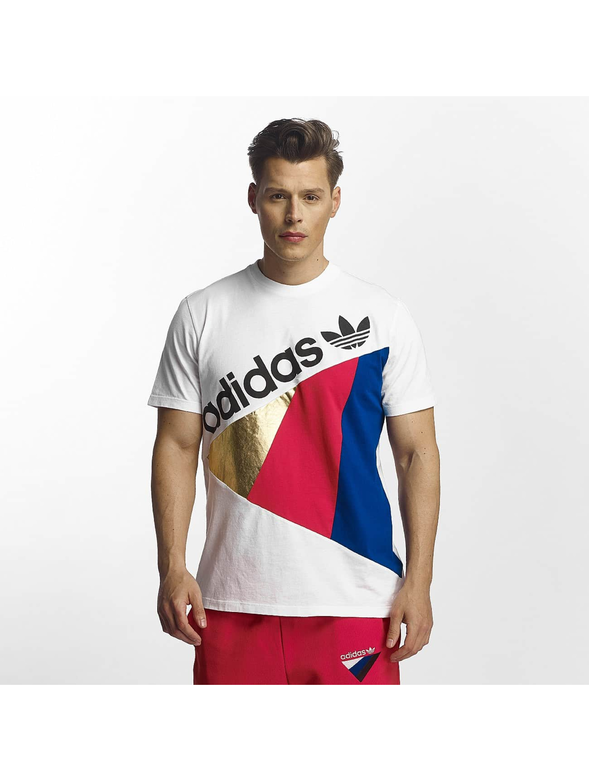 adidas Männer T-Shirt Tribe in weiß