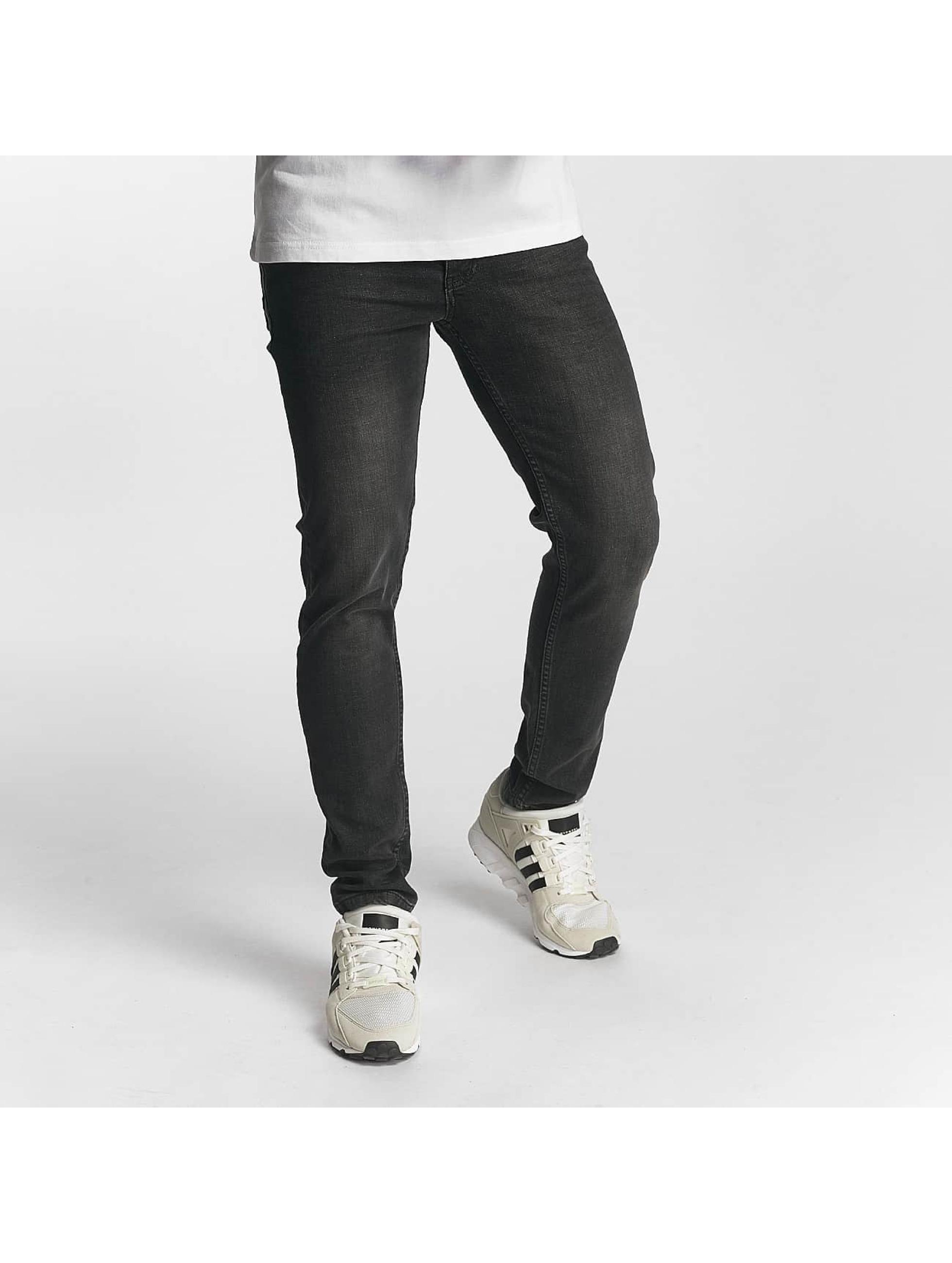 DEF Männer Slim Fit Jeans Slav in grau