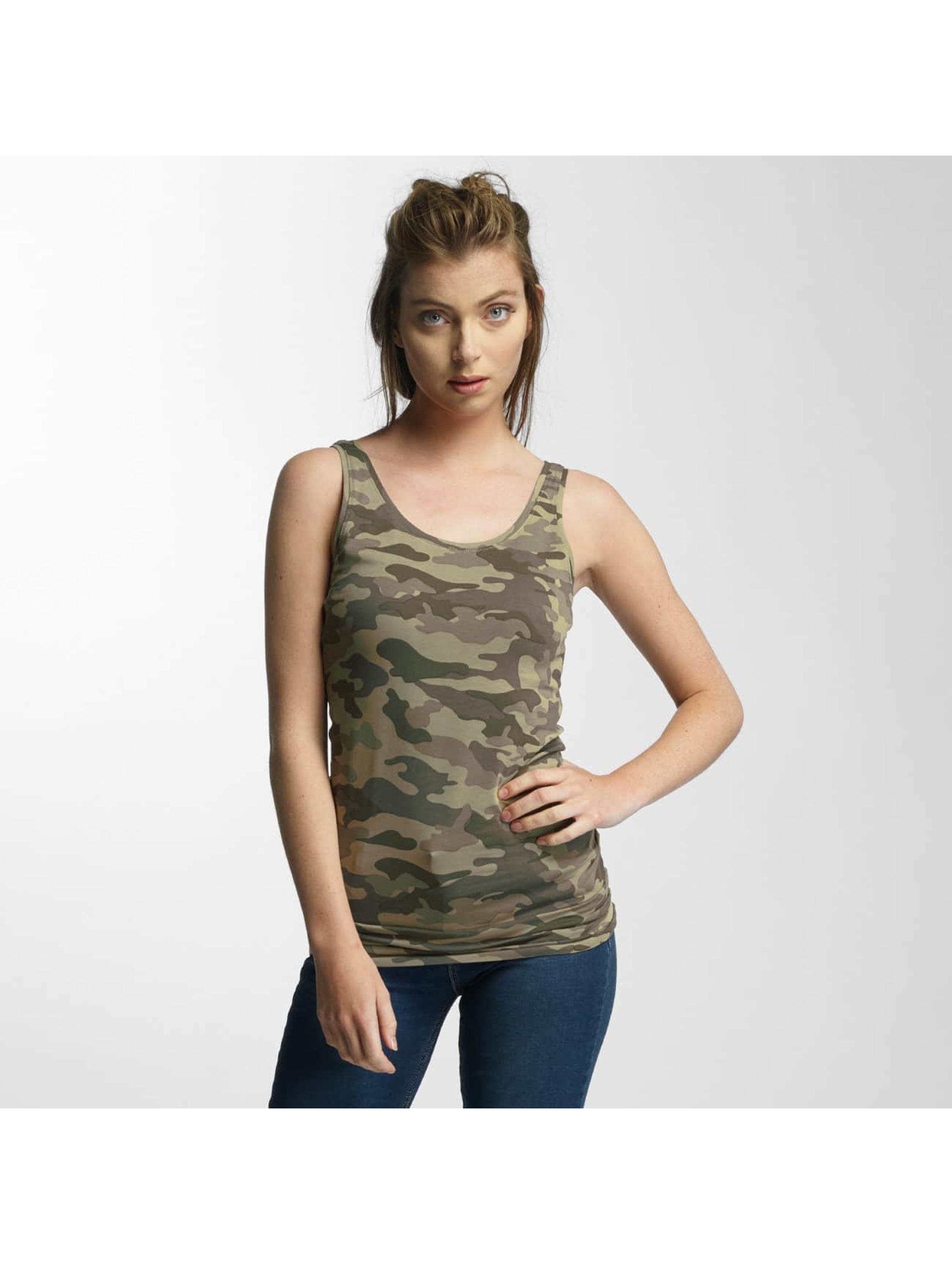 Only Frauen Tank Tops onlLive Love in olive