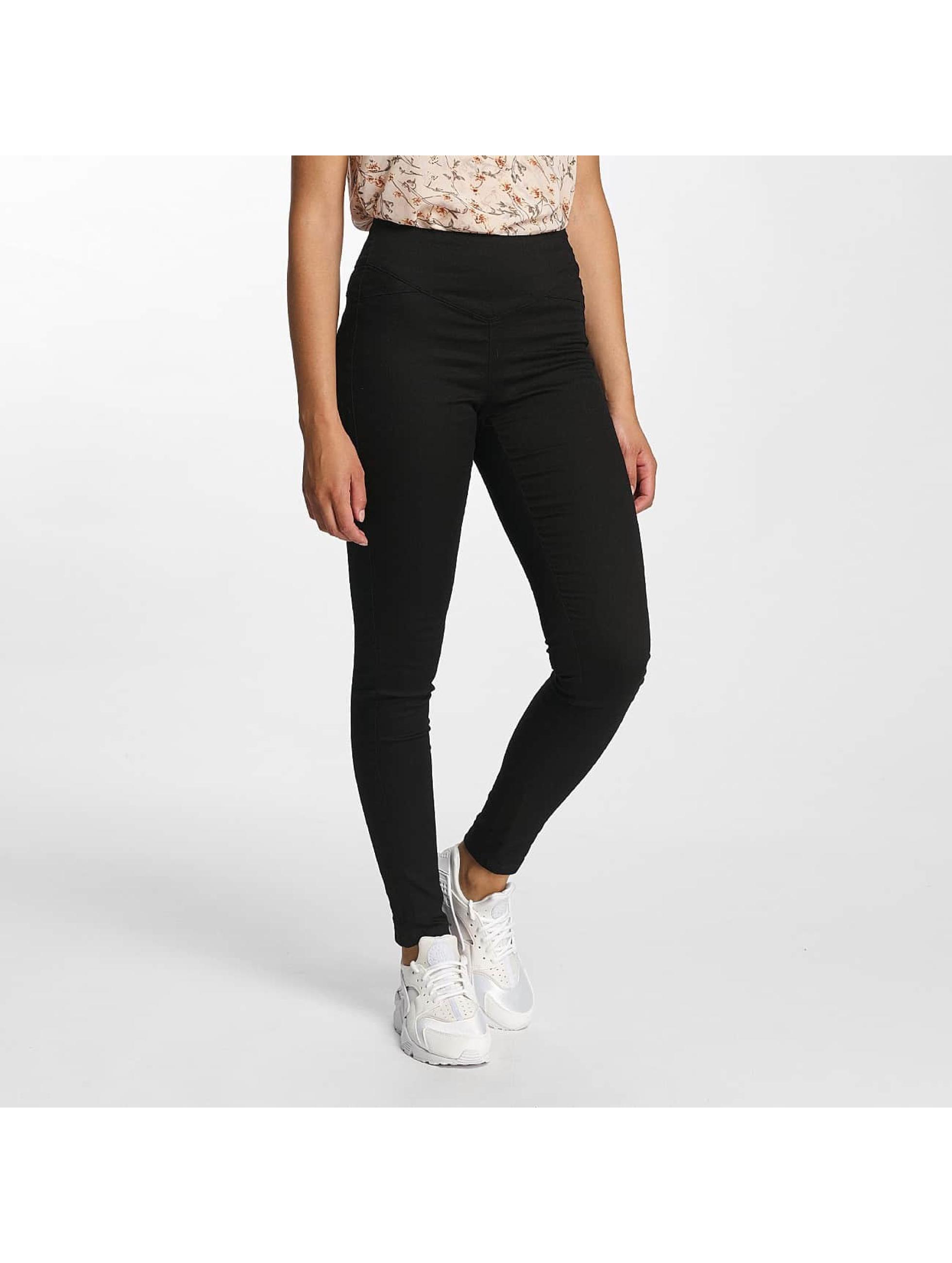 Vero Moda Frauen High Waist Jeans vmHot in schwarz