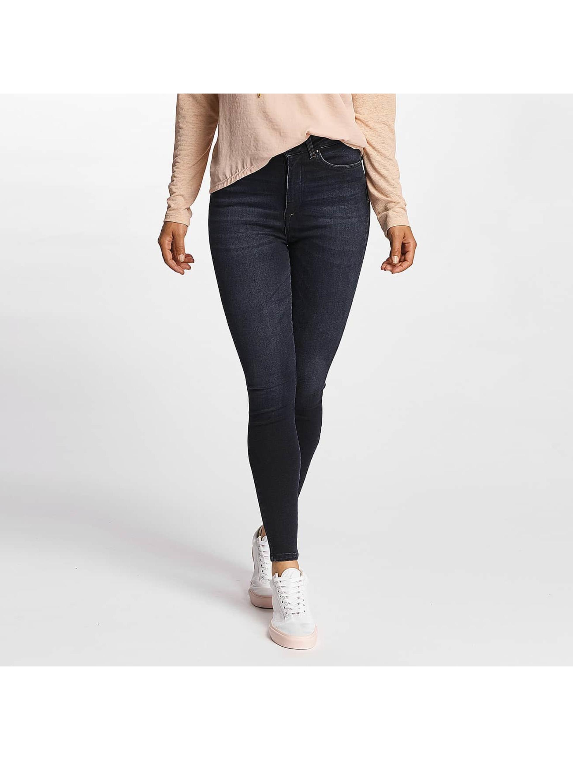 Only Frauen High Waist Jeans onlPosh High Waist in blau
